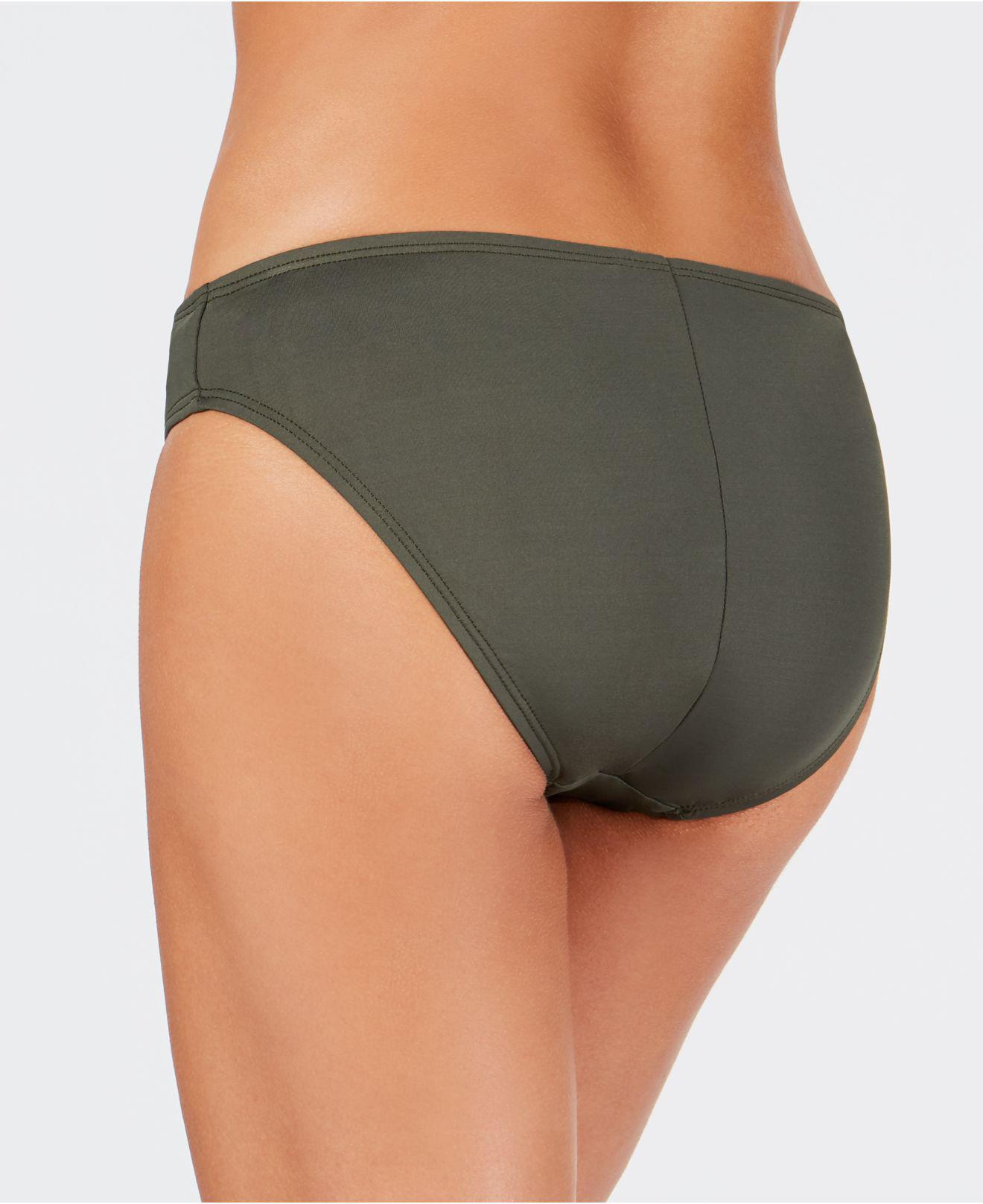 d8ce261aa0837 Lyst - La Blanca Classic Bikini Bottoms in Green