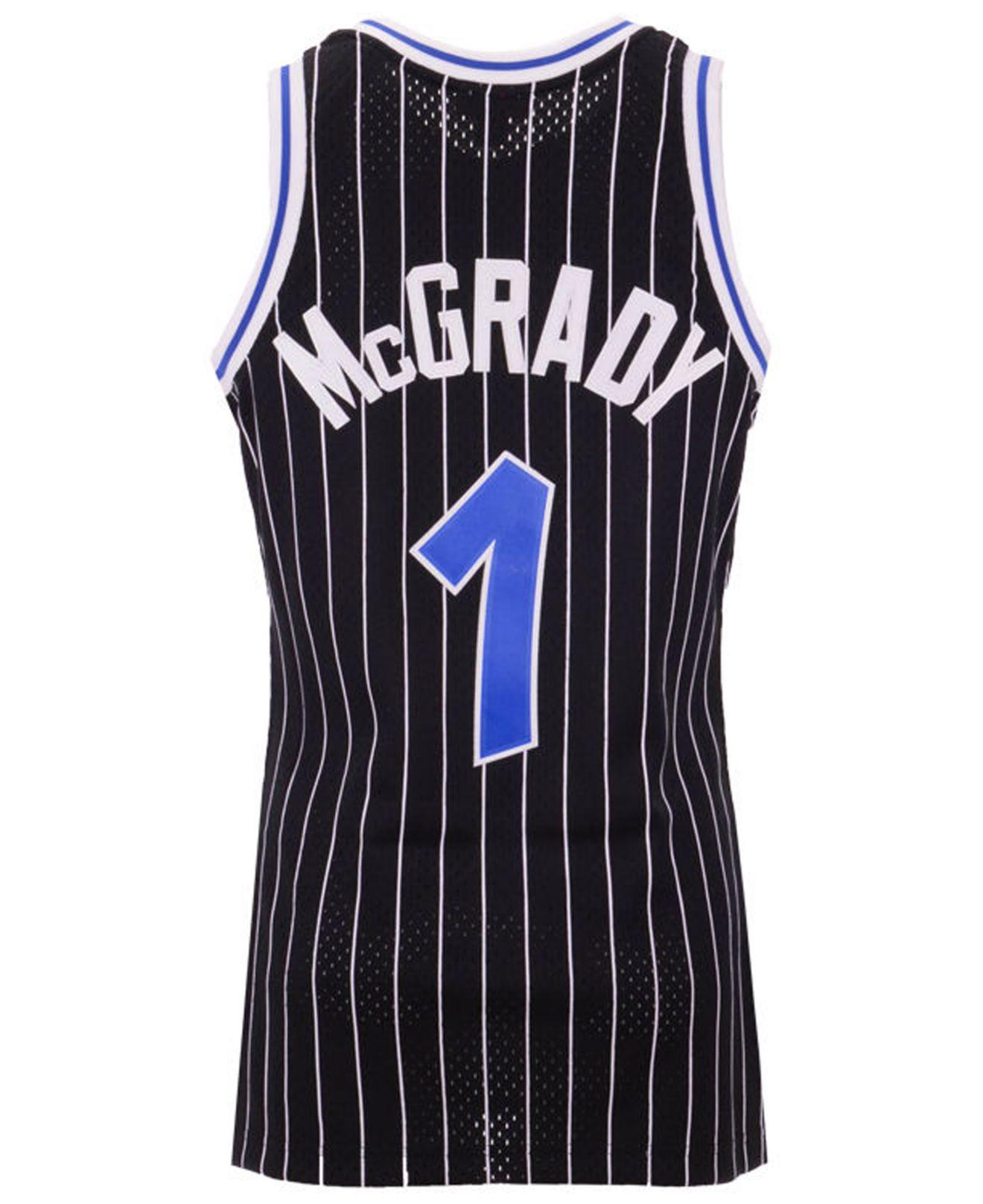 d7b82a5c3 Mitchell   Ness. Men s Black Tracy Mcgrady Orlando Magic Hardwood Classic  Swingman Jersey