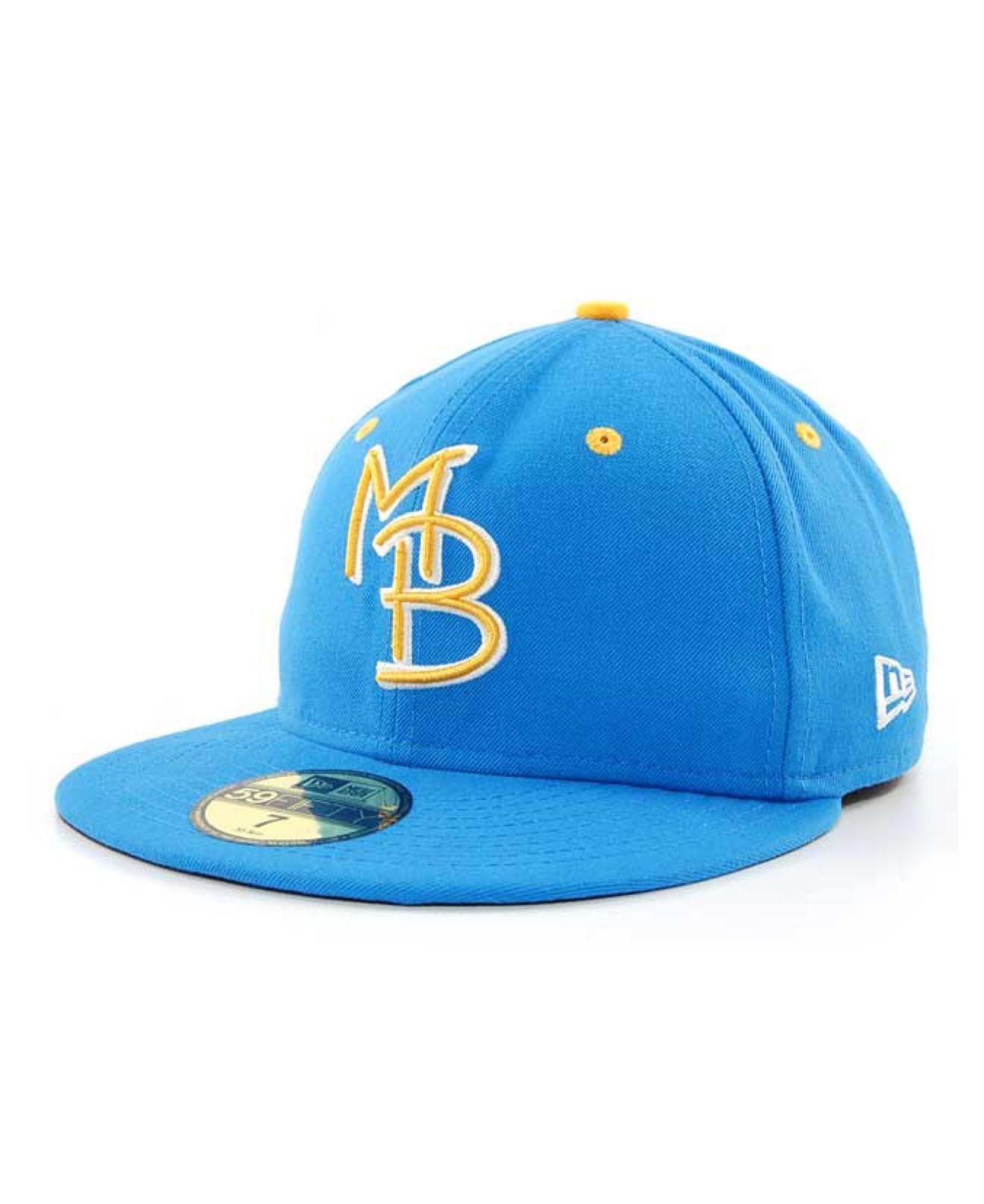 KTZ Mens Blue Myrtle Beach Pelicans