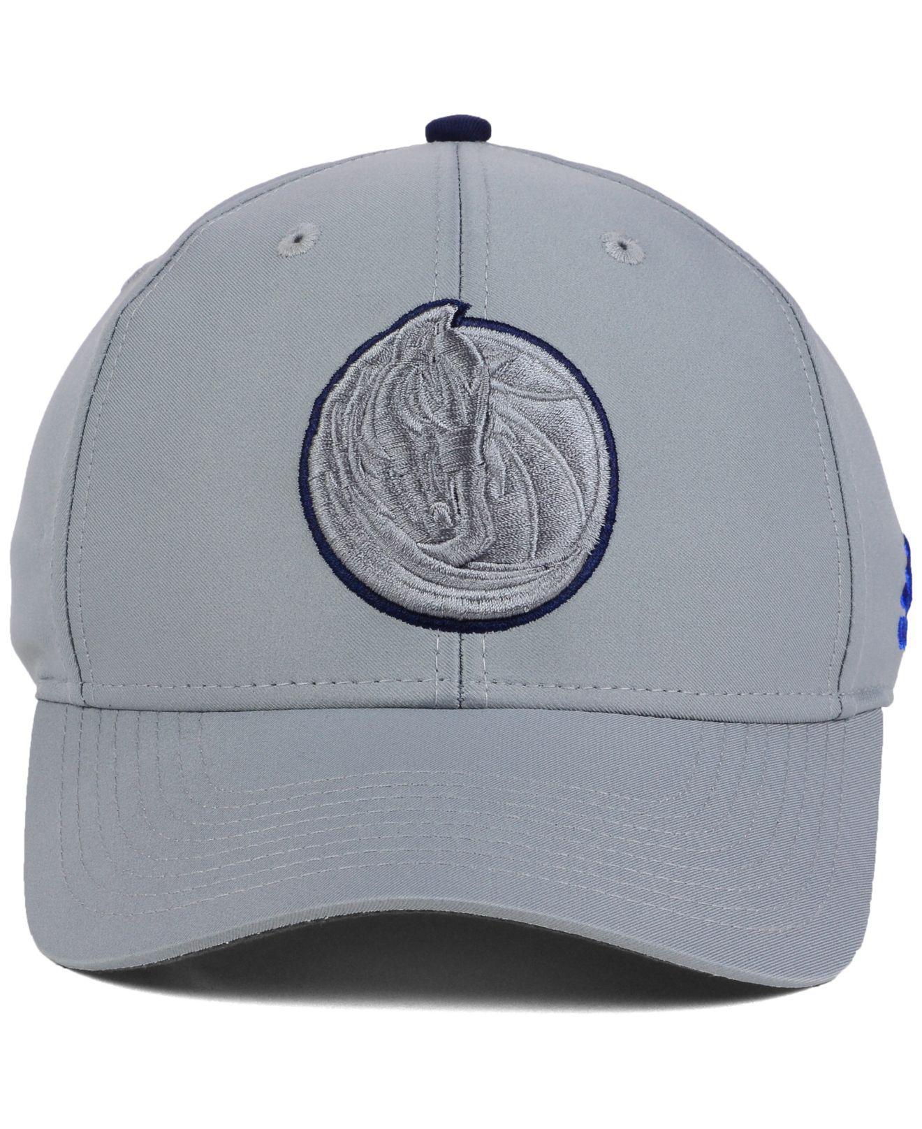 8d358d5494e promo code for lyst adidas dallas mavericks gray color pop flex cap in gray  for men