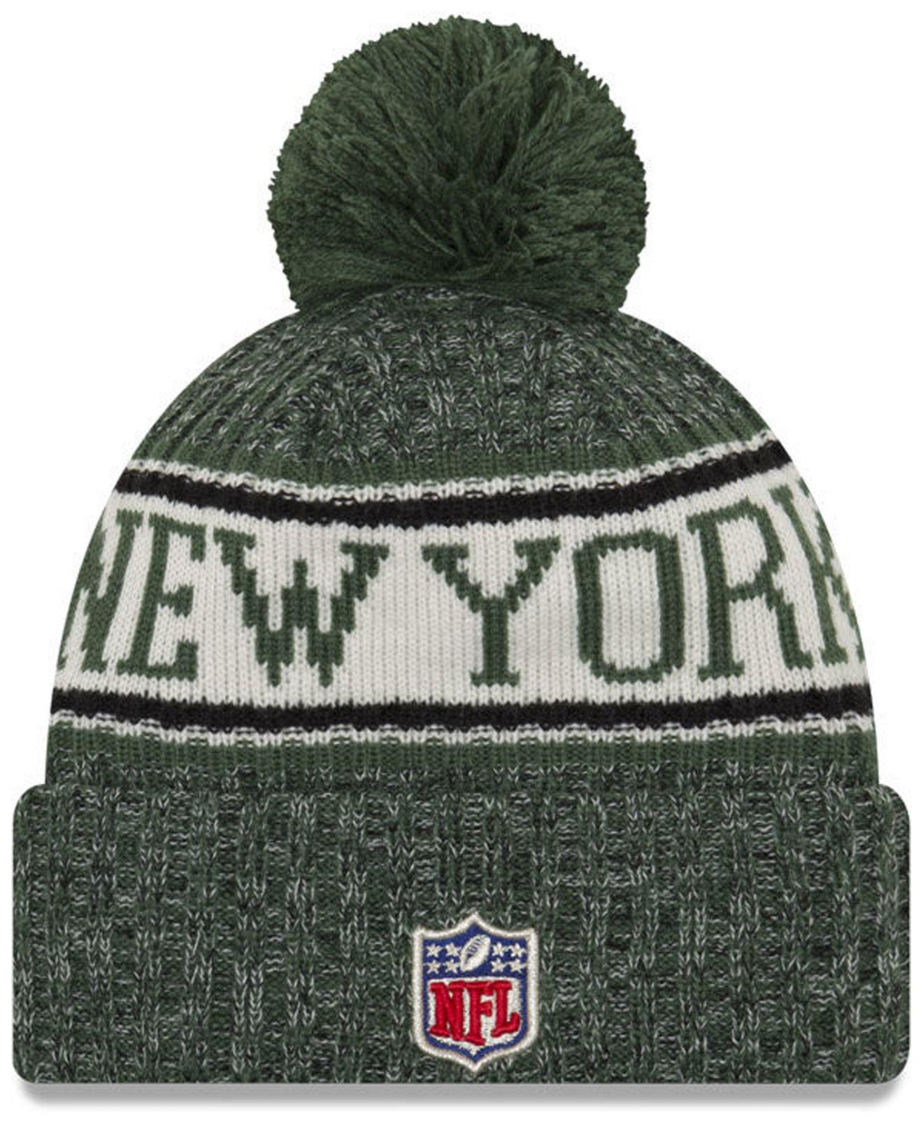 Lyst - Ktz New York Jets Sport Knit Hat in Green for Men c49196e54