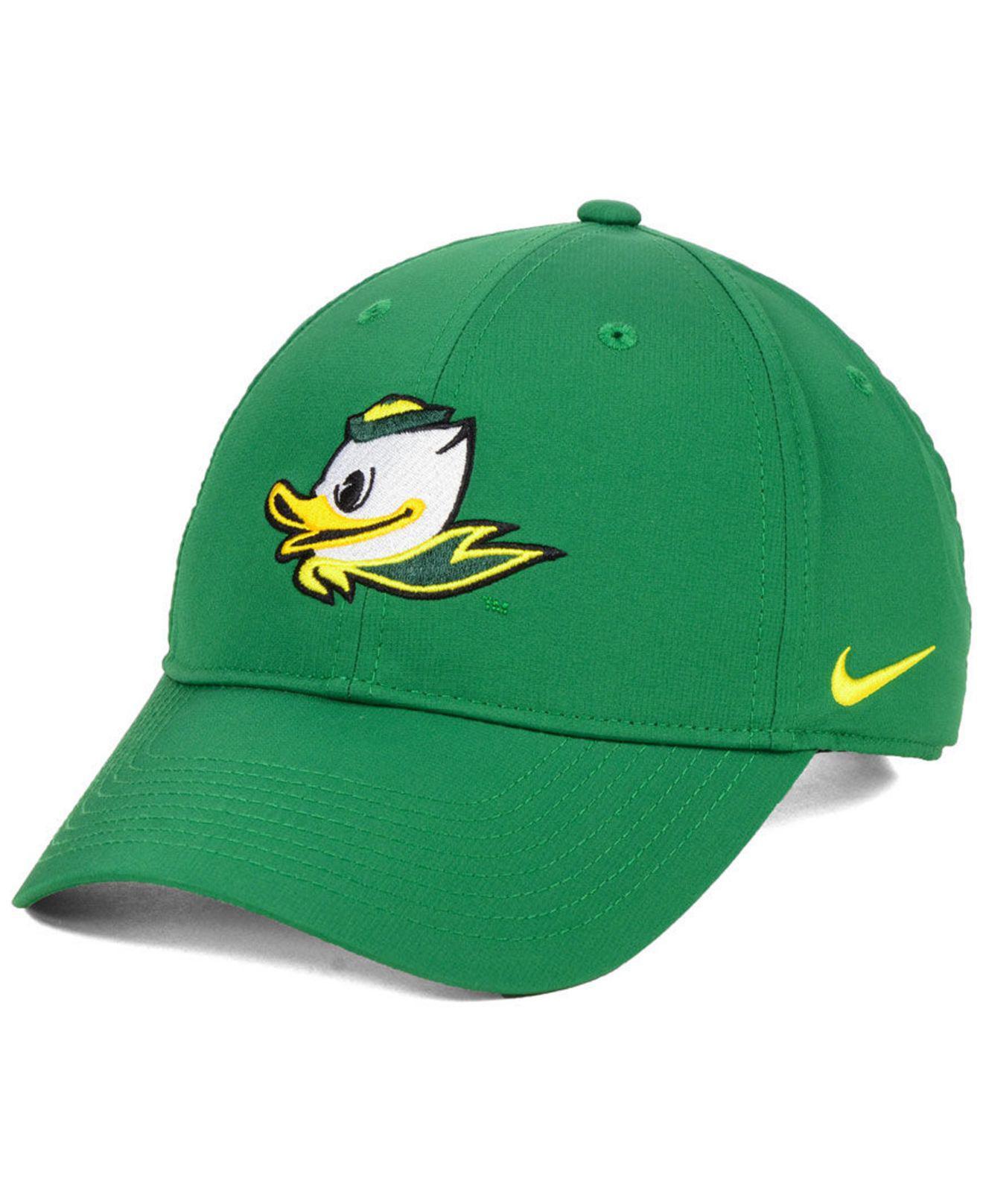 5cb187537f574 Lyst - Nike Oregon Ducks Dri-fit Adjustable Cap in Green for Men