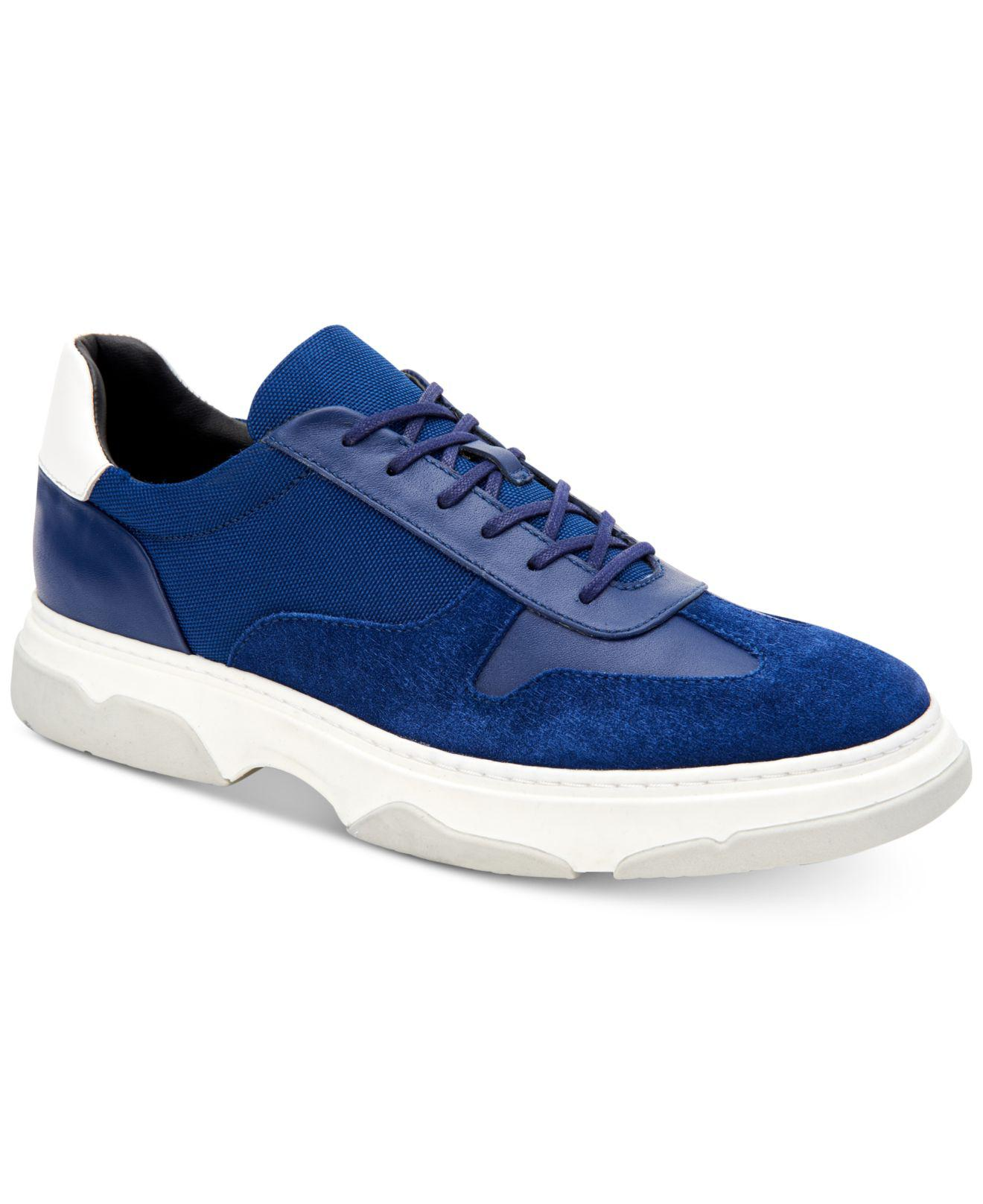 f06a83c4f37 Lyst - Calvin Klein Pauly Sneakers in Blue for Men