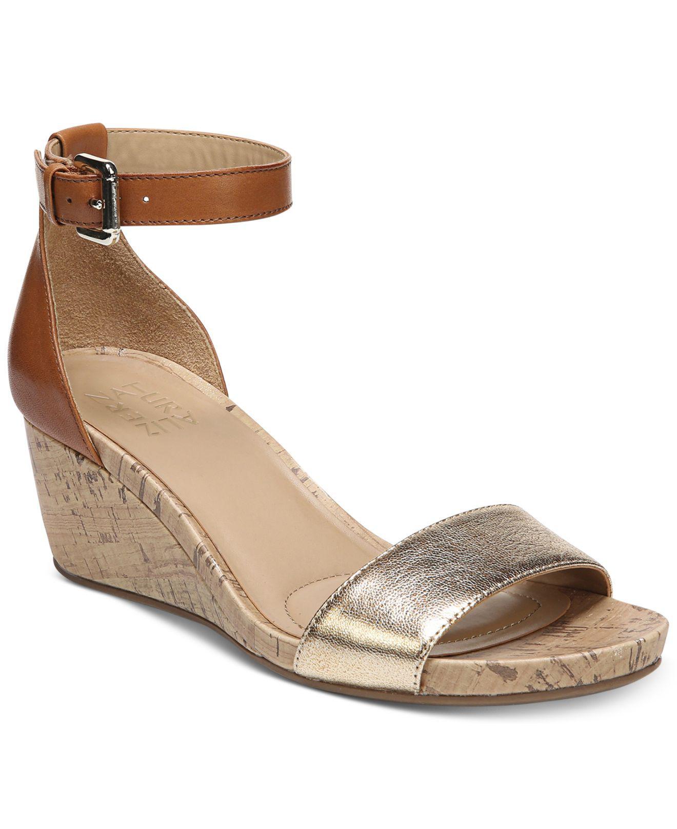 1903ac092bae Lyst - Naturalizer Cami Wedge Sandals