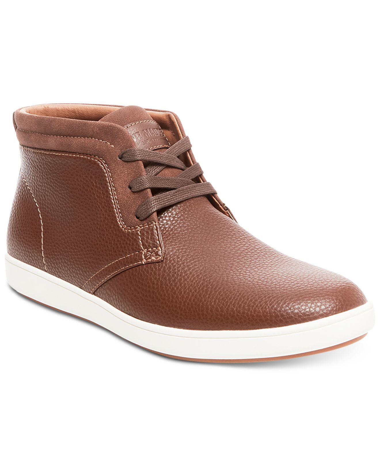 Steve Madden. Brown Men's Fairway Hi-top Sneakers