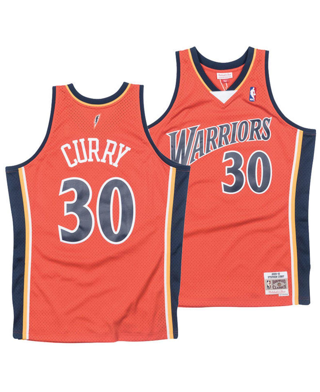 Mitchell   Ness. Men s Stephen Curry Golden State Warriors Hardwood Classic  Swingman Jersey fead58769