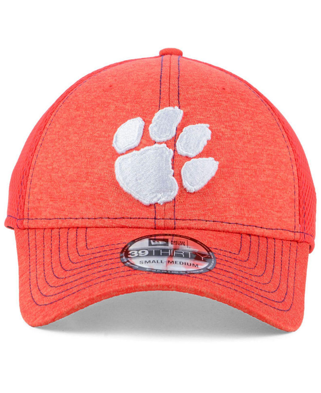 on sale 64168 054dc KTZ Clemson Tigers Classic Shade Neo 39thirty Cap in Orange for Men - Lyst