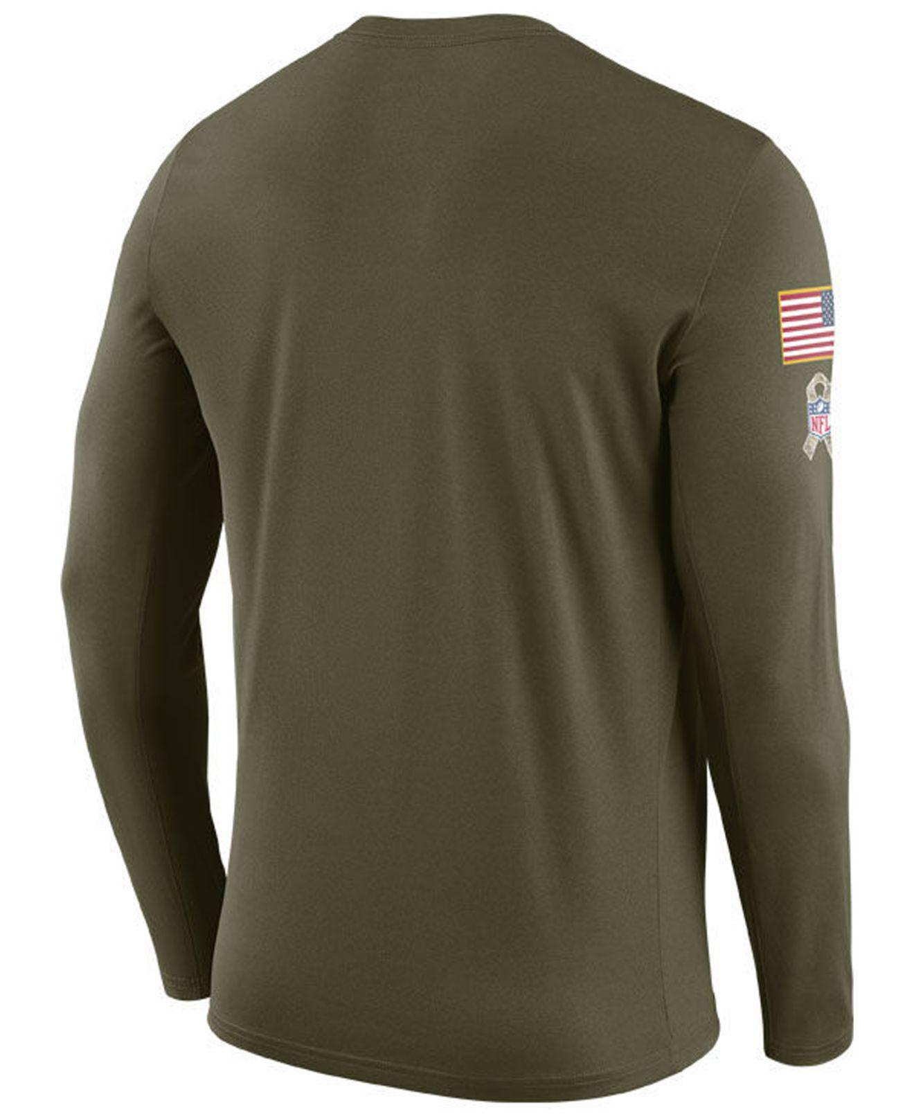 Lyst - Nike Indianapolis Colts Salute To Service Legend Long Sleeve T-shirt  in Green for Men ce56c60ed