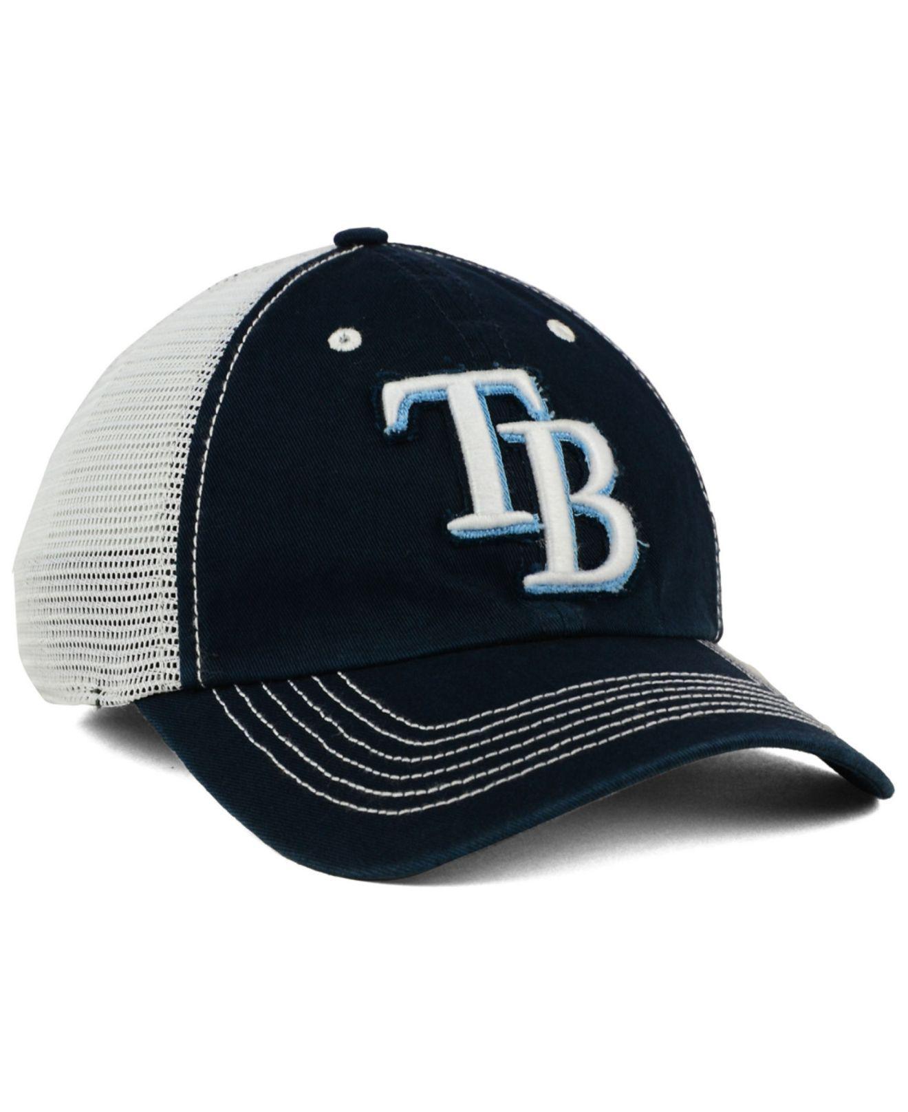 wholesale dealer 95359 33bff ... clean up adjustable hat 42092 defd1  greece ireland lyst 47 brand tampa  bay rays taylor closer cap in white for men f6d37