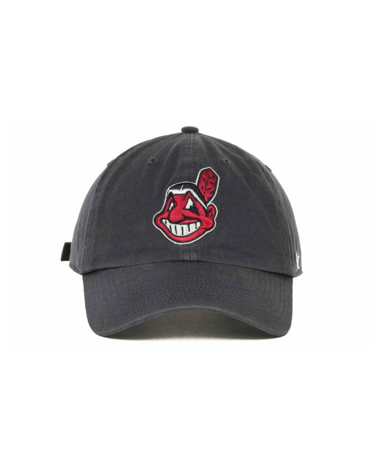 e2d48c5b2 47 Brand - Blue Cleveland Indians Clean Up Hat for Men - Lyst. View  fullscreen