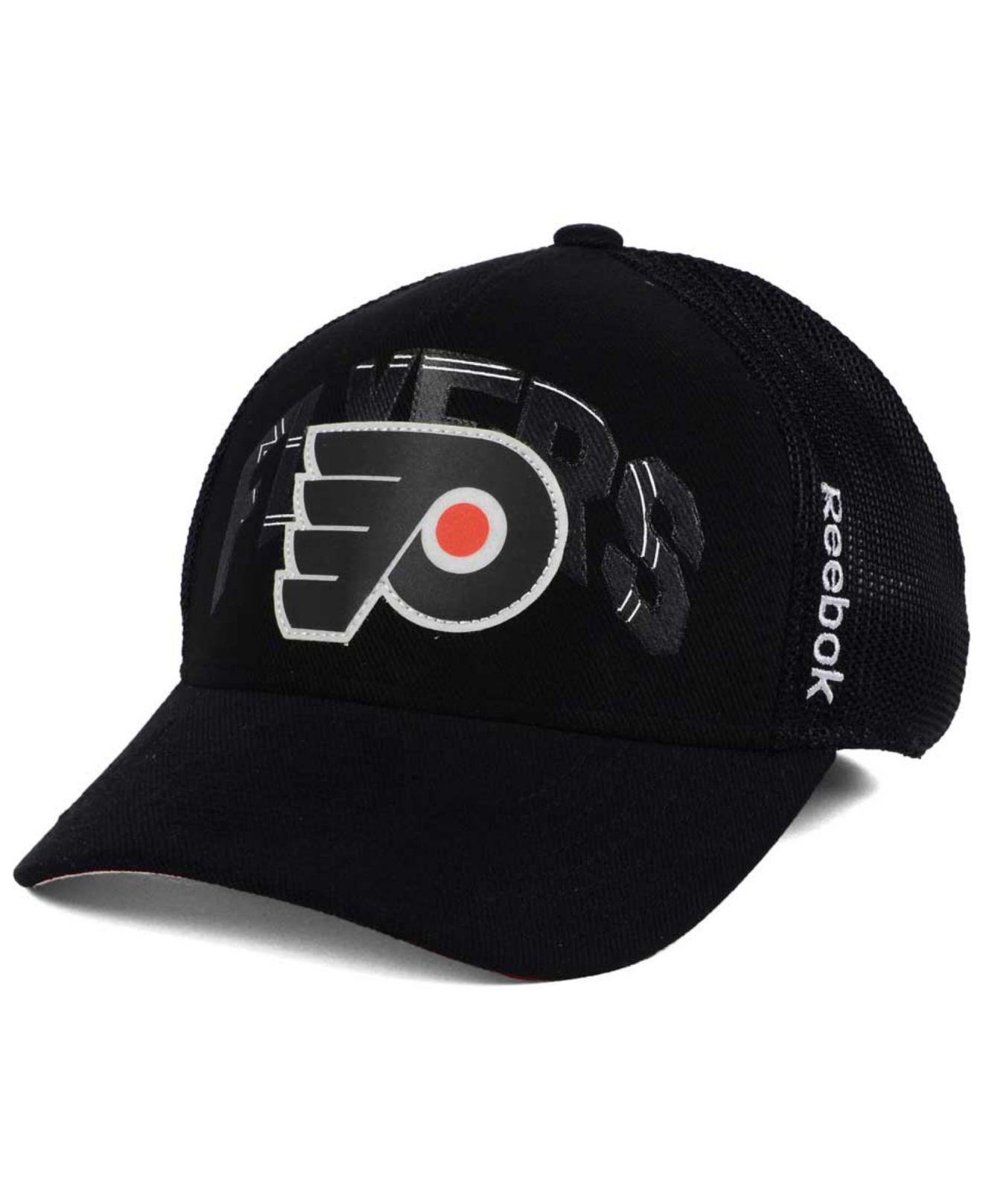 0f17a906629d9 Lyst - Reebok Philadelphia Flyers Stadium Series Coaches Flex Cap in ...