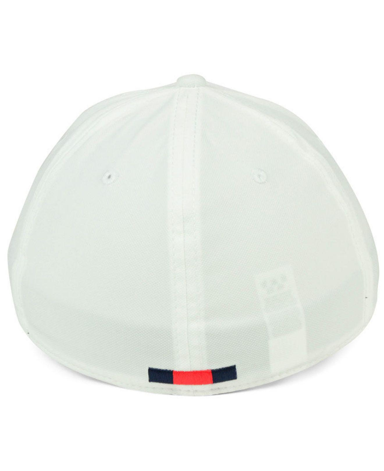 online retailer 9f33b c076c ... true vapor performance fitted hat d806c f381a  greece nike white ole  miss rebels col cap for men lyst. view fullscreen e4e8c 88de7