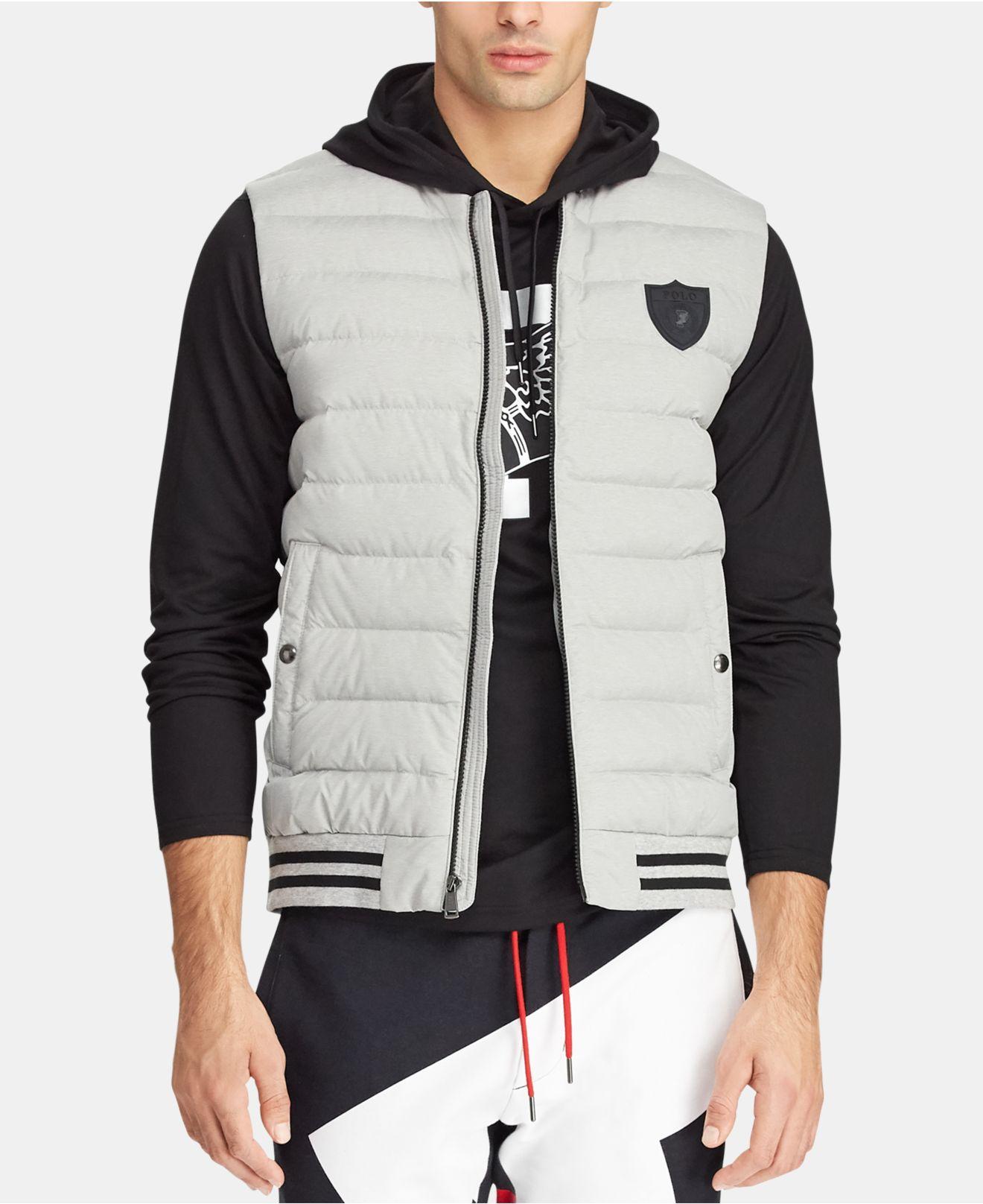 d08ec5f75094c Lyst - Polo Ralph Lauren Hybrid Down Vest for Men