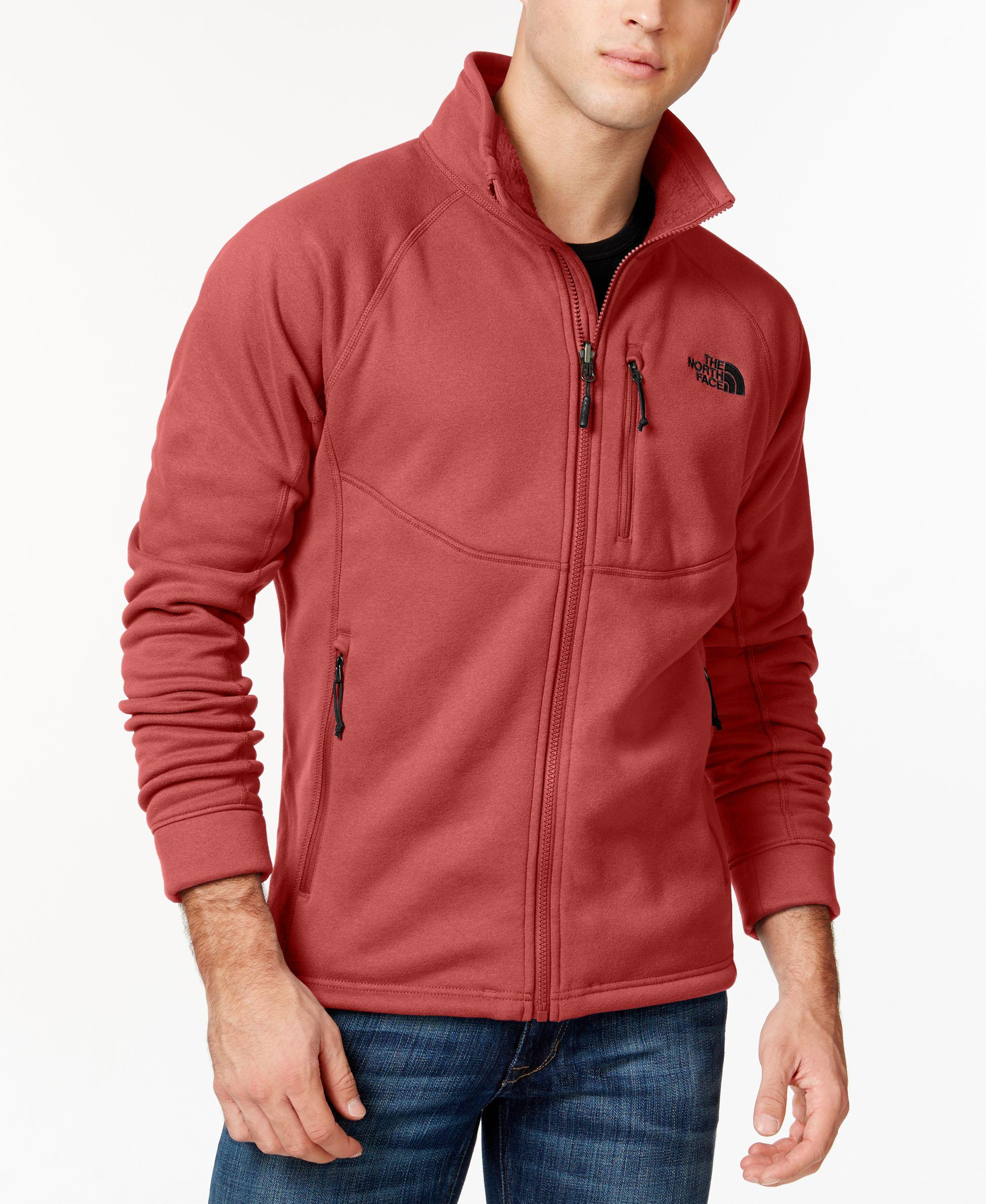 42b07d9e41b5 Lyst - The North Face Timber Full-zip Fleece Jacket in Red for Men