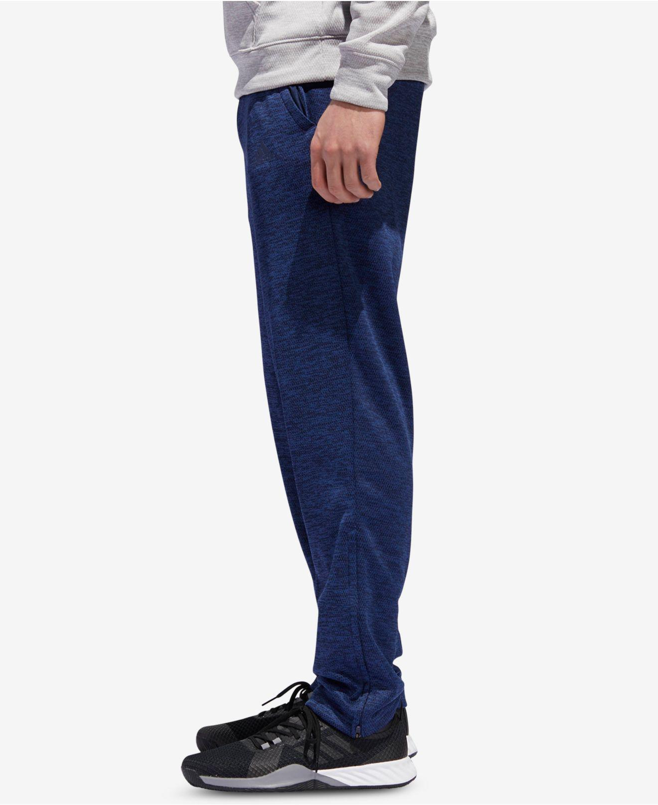 79a332b3a Lyst - adidas Team Issue Tapered Fleece Pants in Blue for Men