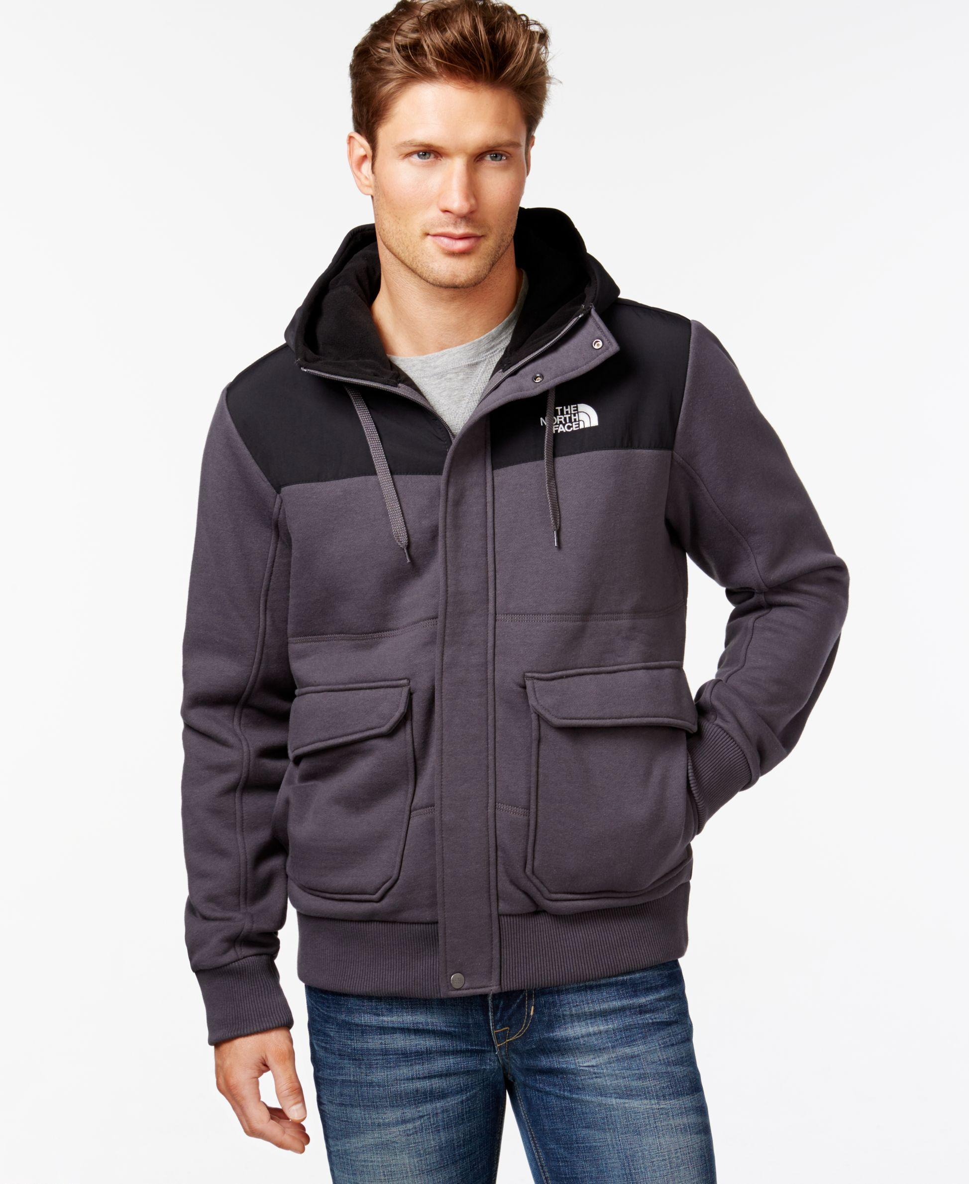 Lyst The North Face Rivington Full Zip Jacket In Gray