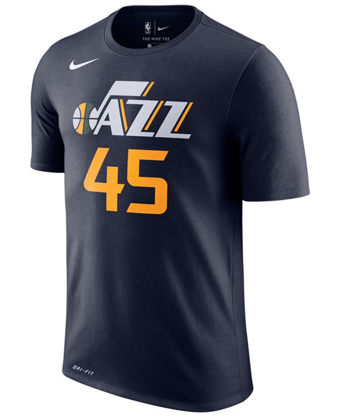 81e58c902 Lyst - Nike Donovan Mitchell Utah Jazz Icon Player T-shirt in Blue for Men