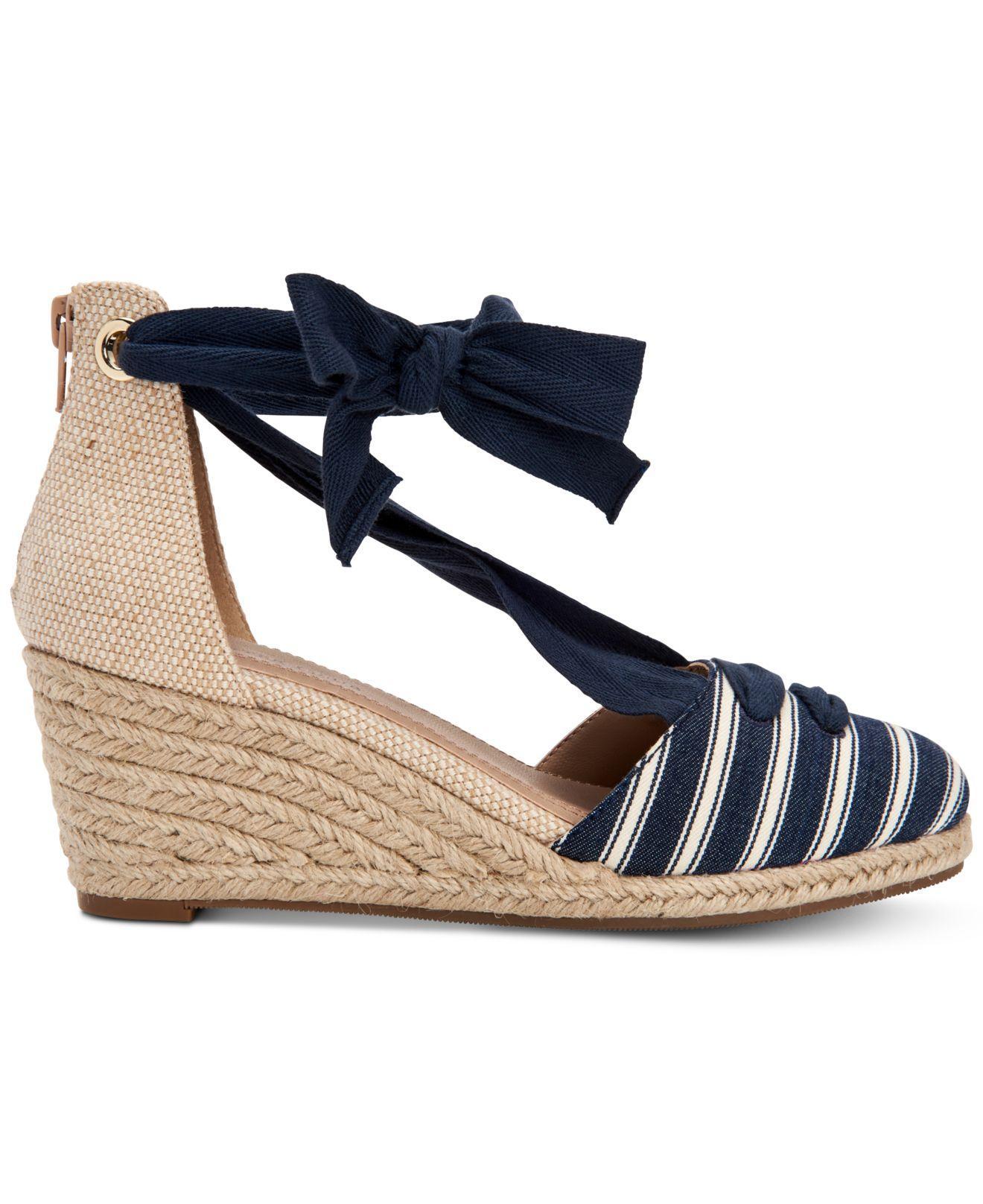 b9e864f29635 Lyst - Charter Club Maritzaa Wedge Sandals