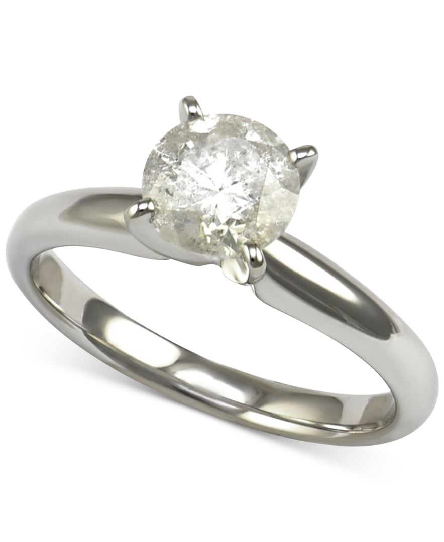 macy s solitaire engagement ring 1 1 4 ct t w