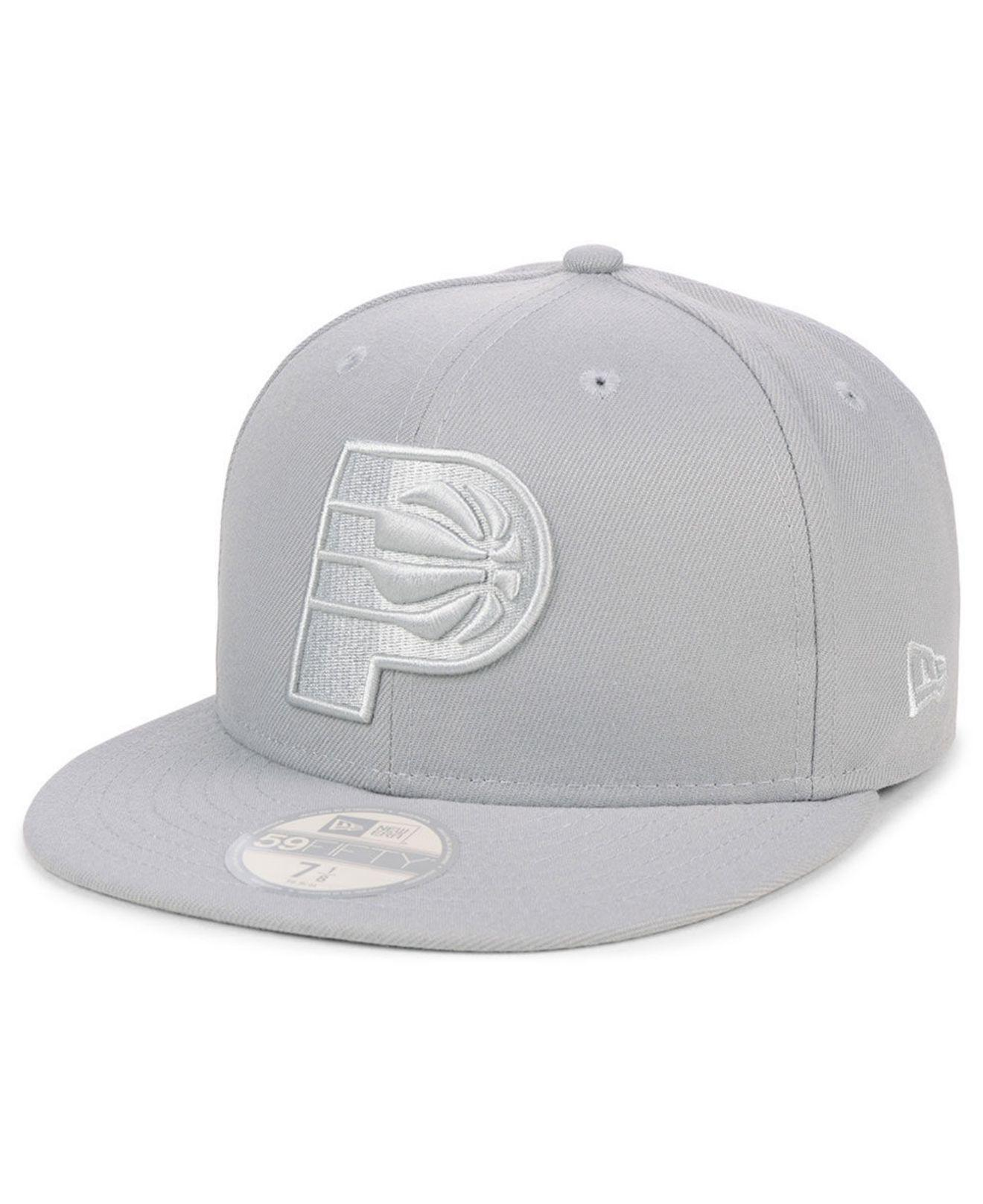 reputable site 94107 56121 ... where can i buy ktz. mens gray indiana pacers fall prism pack 59fifty  fitted cap