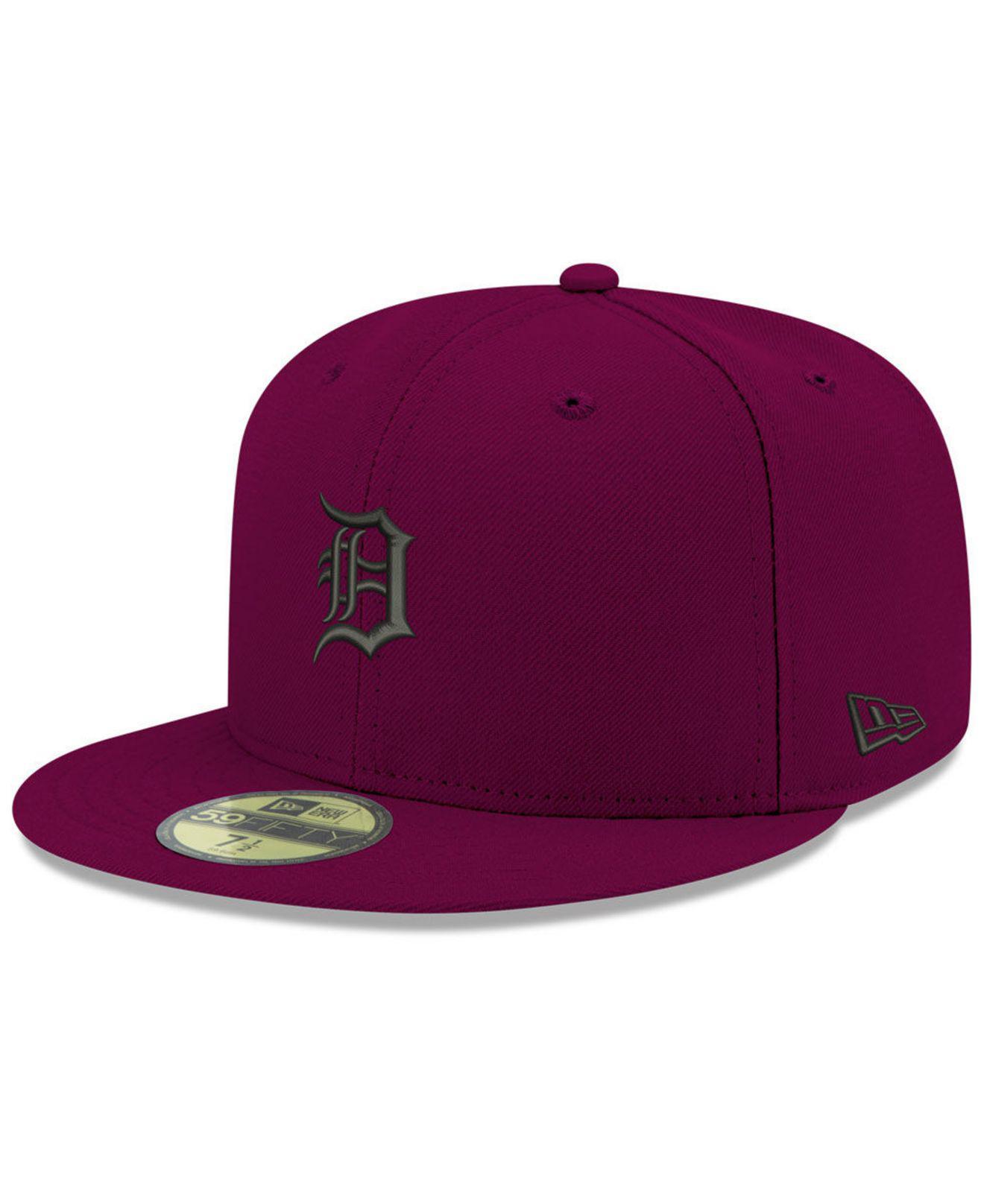 reputable site 30310 a7095 KTZ. Men s Purple Detroit Tigers Reverse C-dub 59fifty Fitted Cap