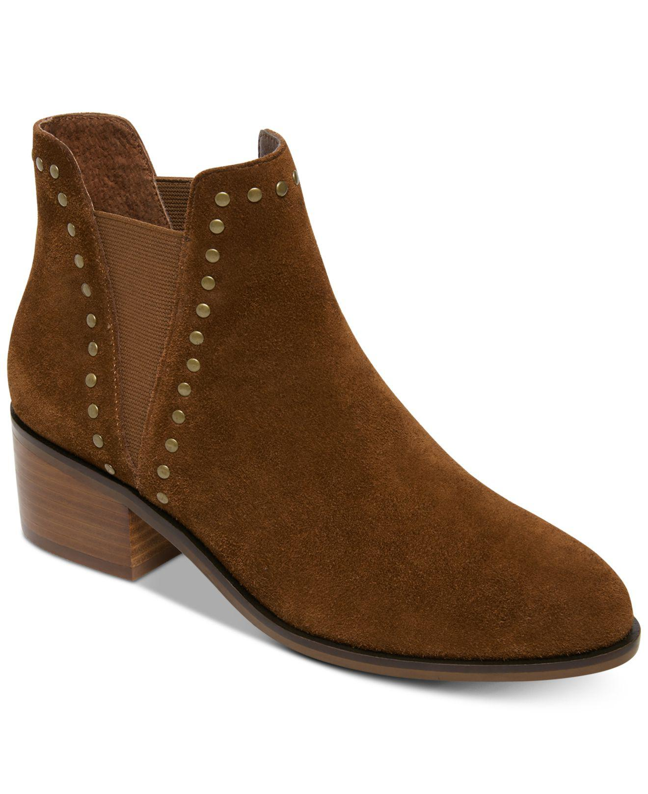 6ca13772283 Lyst - Steve Madden Cade Booties in Brown