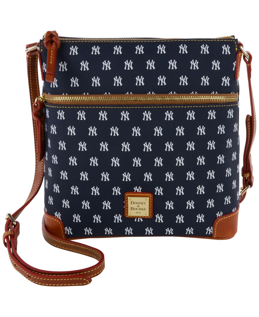 Dooney Amp Bourke New York Yankees Crossbody Purse In Blue