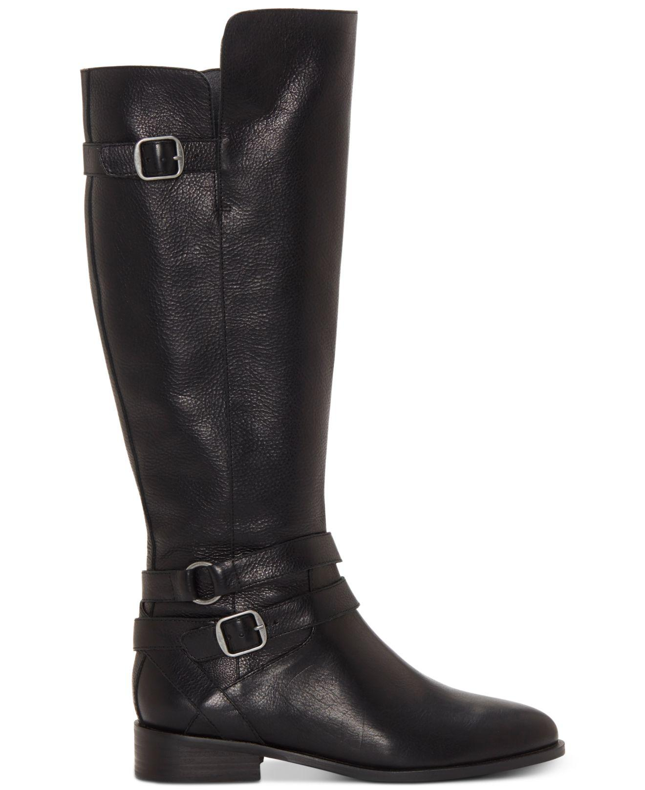 6e67b90a6d07 Lyst - Lucky Brand Paxtreen Over The Knee Boot in Black - Save  32.432432432432435%