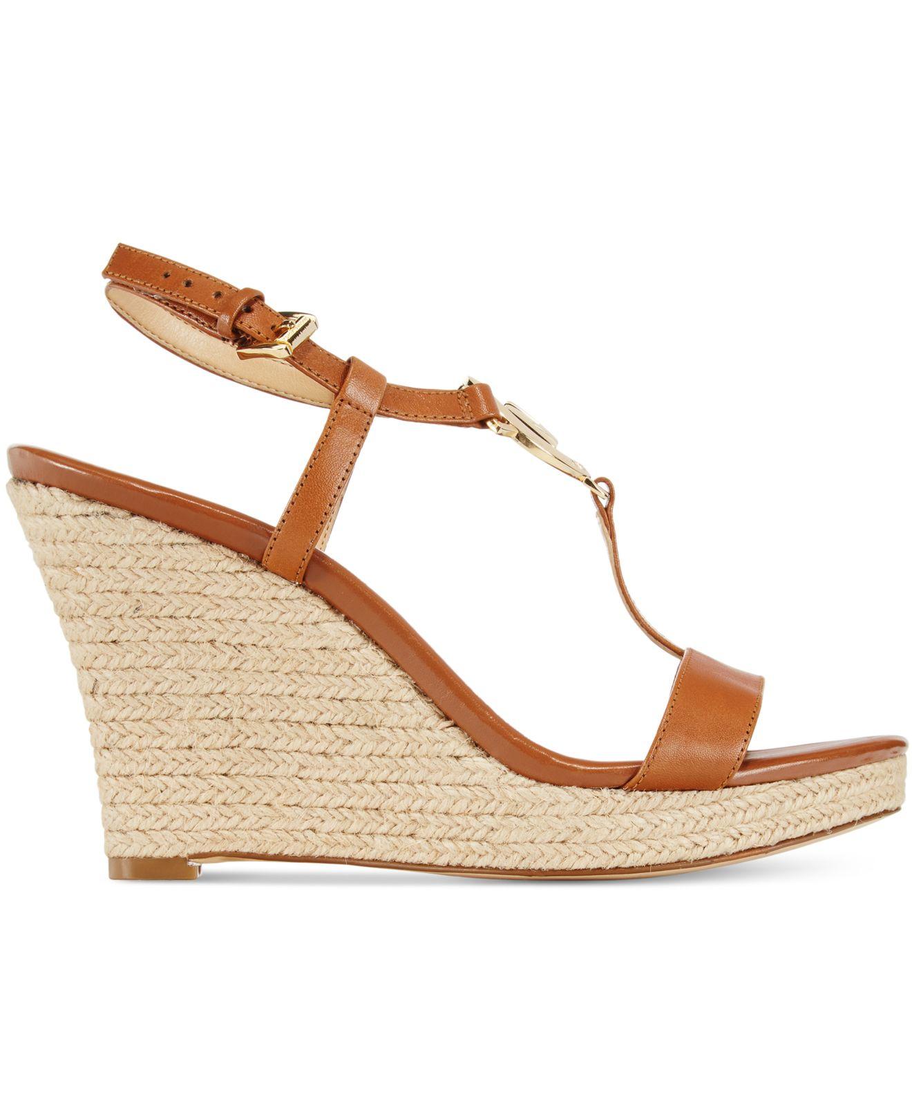 9f052427d4e7 Michael Kors Wedge Sneakers Womens