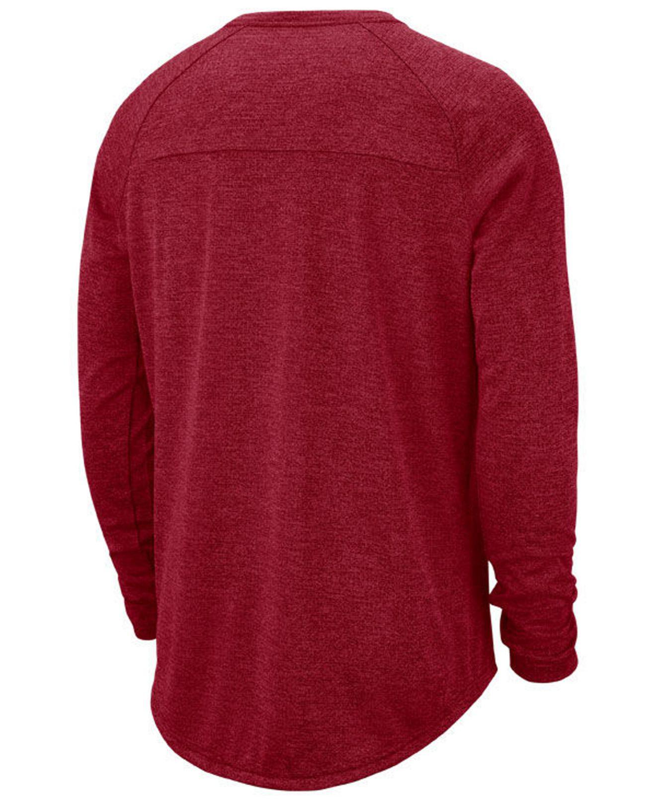 f538eb591 Lyst - Nike Tampa Bay Buccaneers Stadium Long Sleeve T-shirt in Red for Men