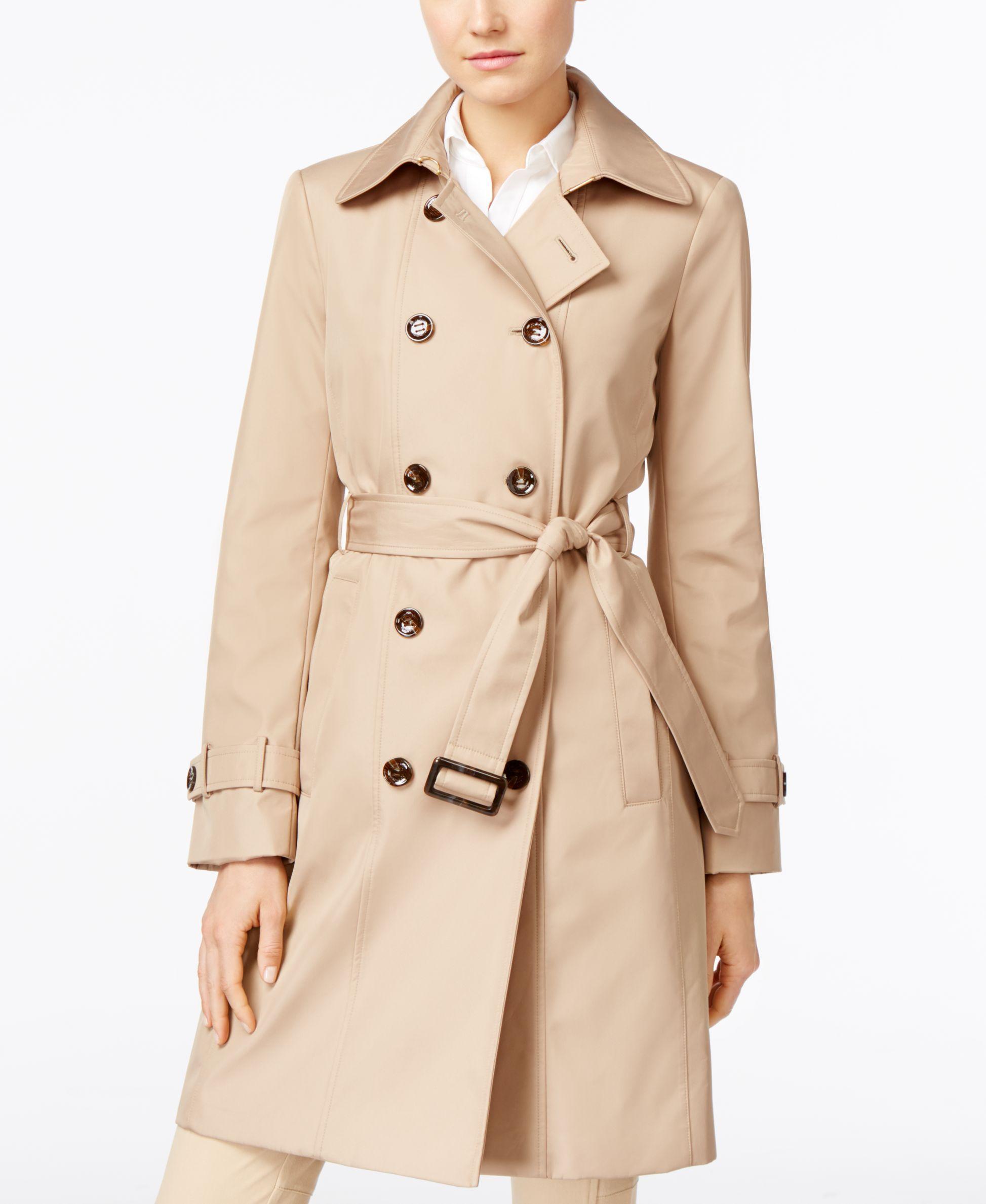 Calvin klein trench coat women