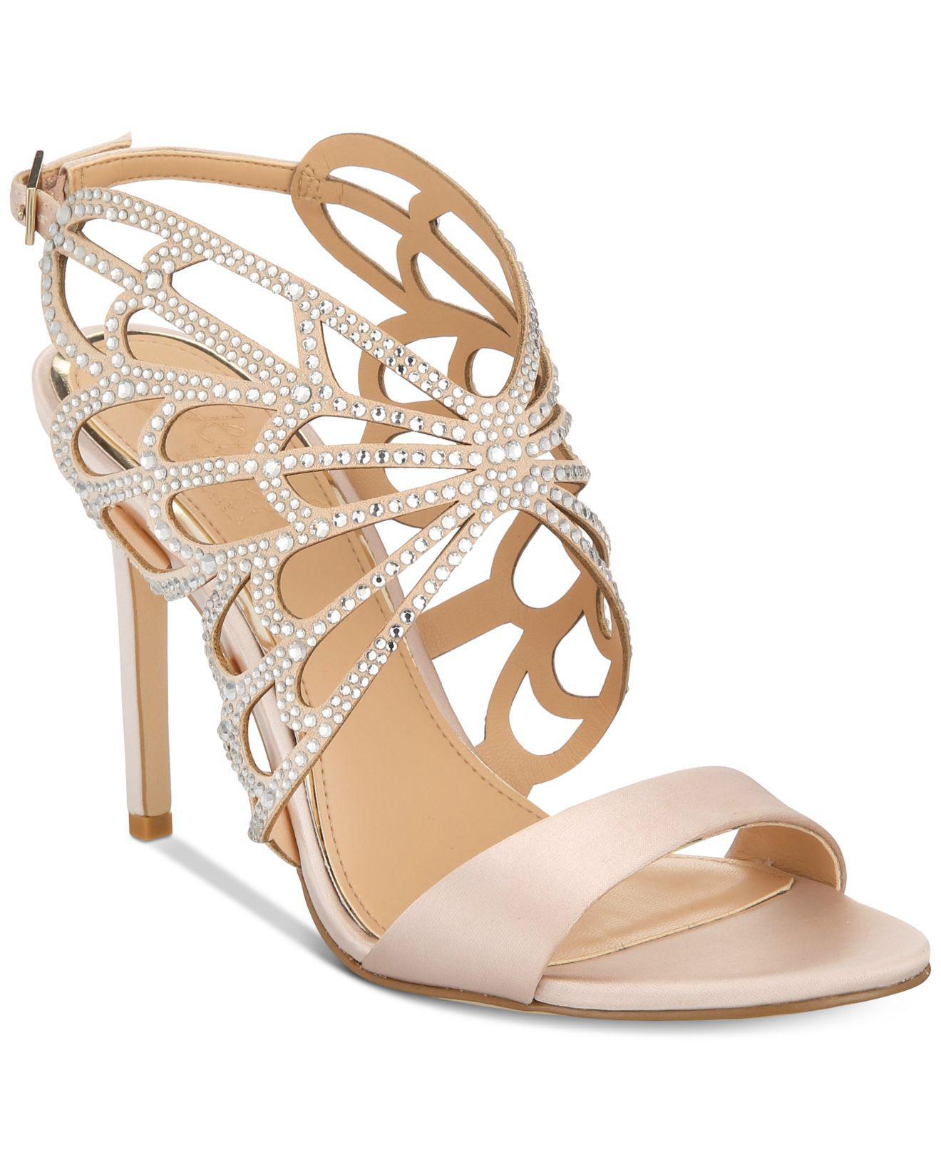 5c52f888920 Badgley Mischka Taresa Evening Sandals - Lyst
