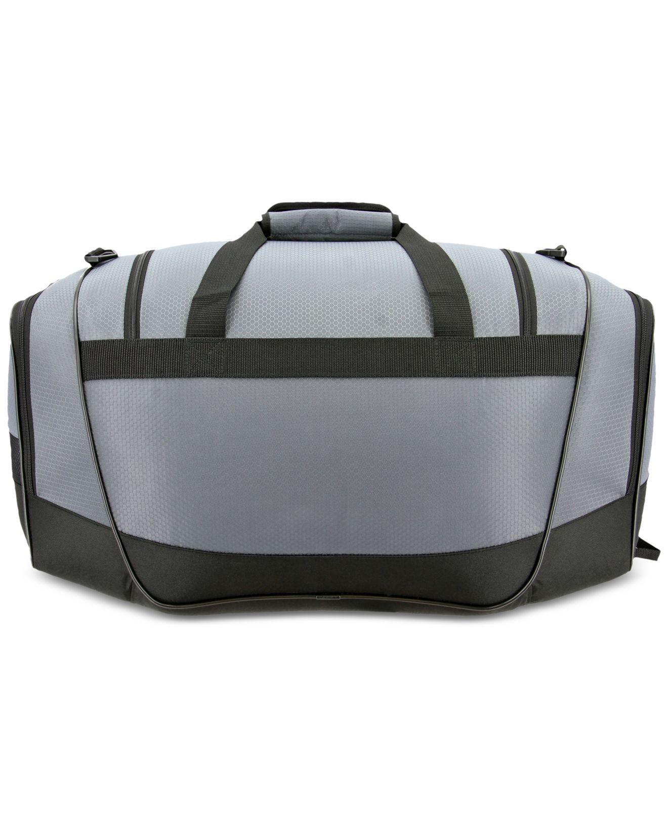 Lyst - adidas Defender Iii Duffel Bag in Gray for Men 5adc637fa1