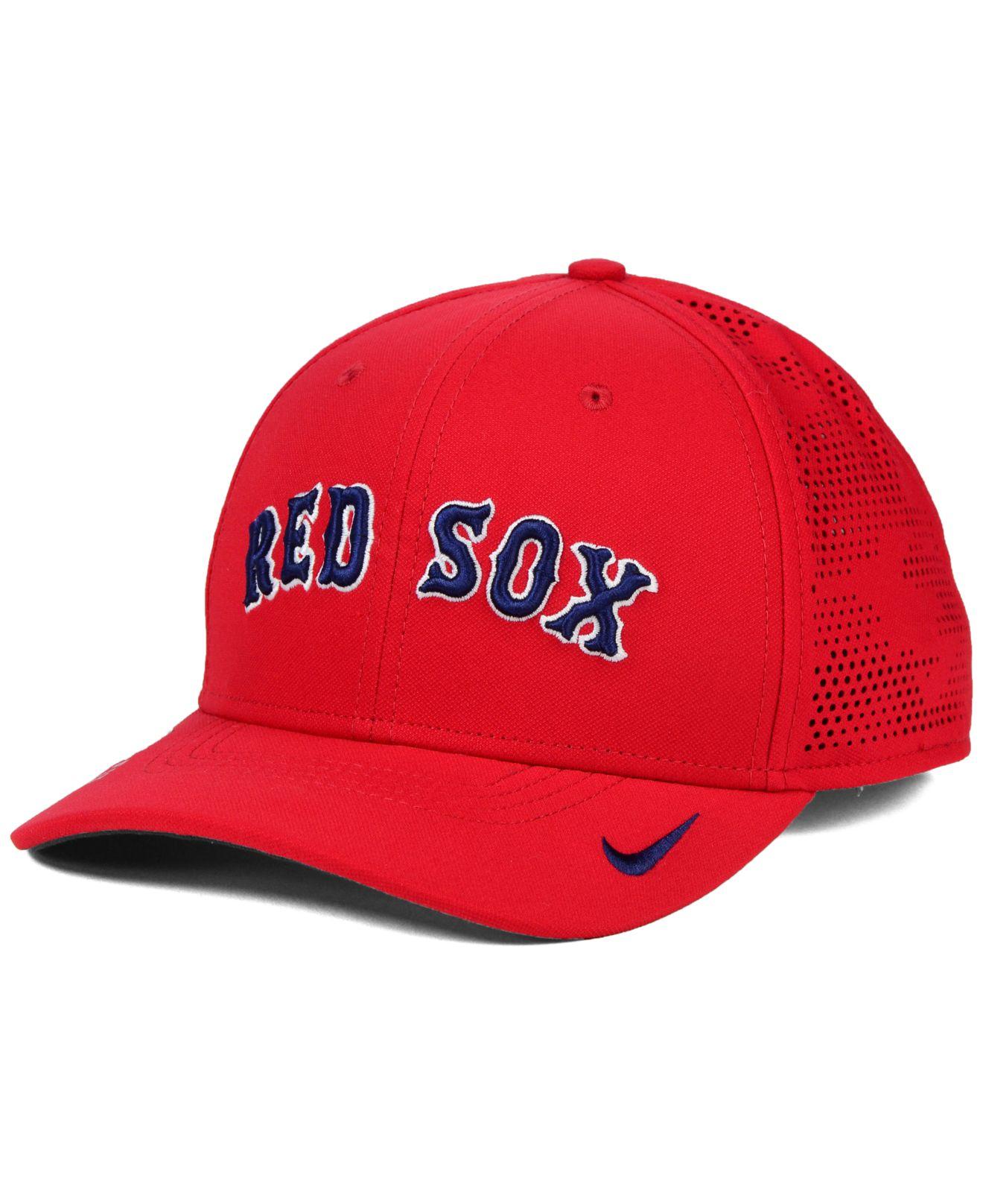 2eacb3edb3c Lyst - Nike Boston Red Sox Dri-fit Vapor Classic Swoosh Flex Cap in ...