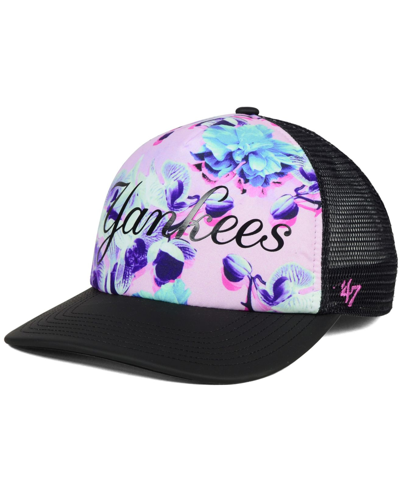 47 Brand New York Yankees X-ray Floral Captain Cap