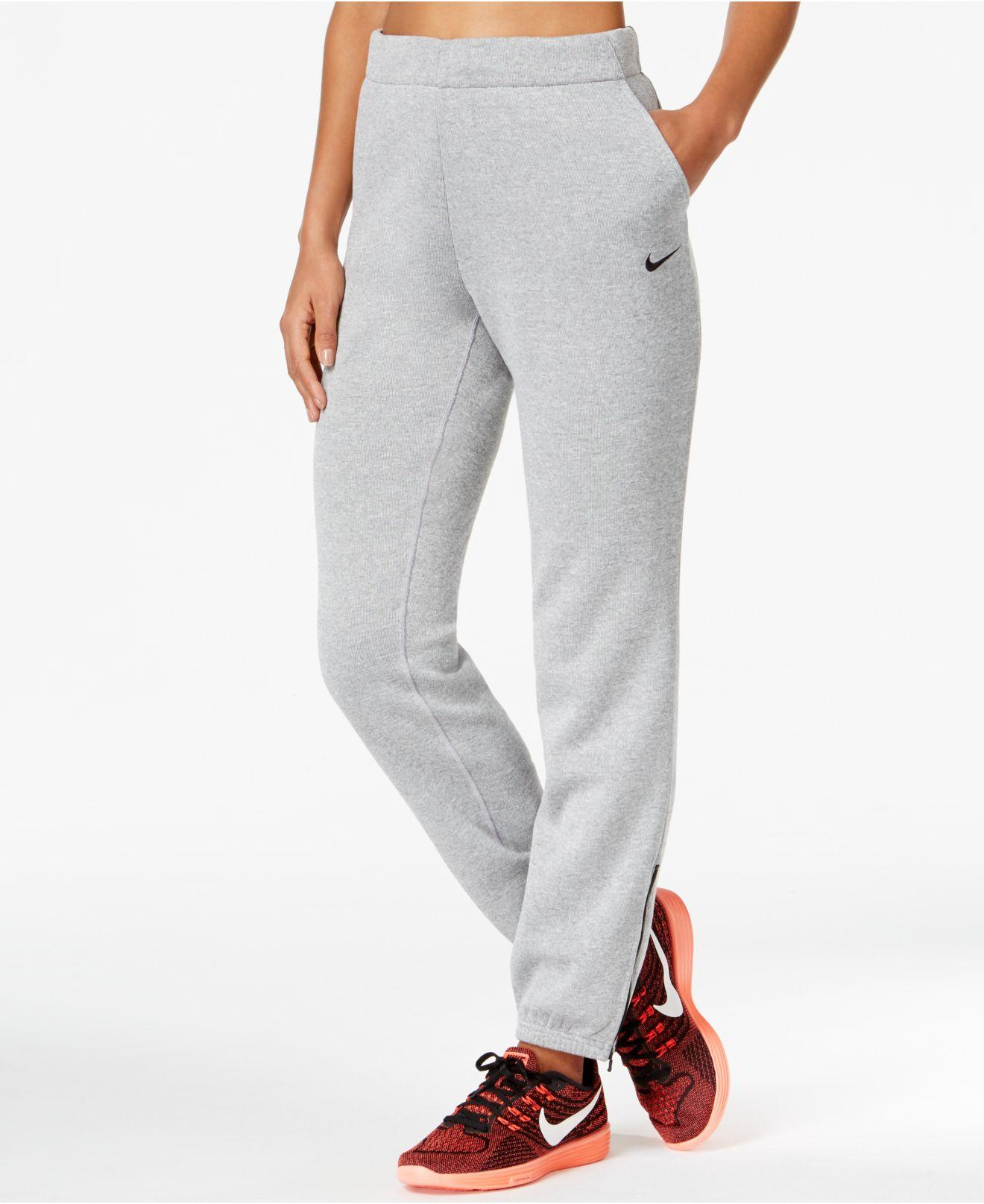 reputable site f01a5 e2a97 Lyst - Nike Hypernatural Therma Training Pants in Gray