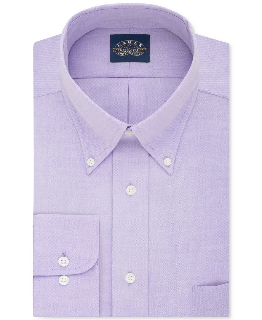 Eagle men 39 s classic fit stretch collar non iron solid for What is a non iron shirt