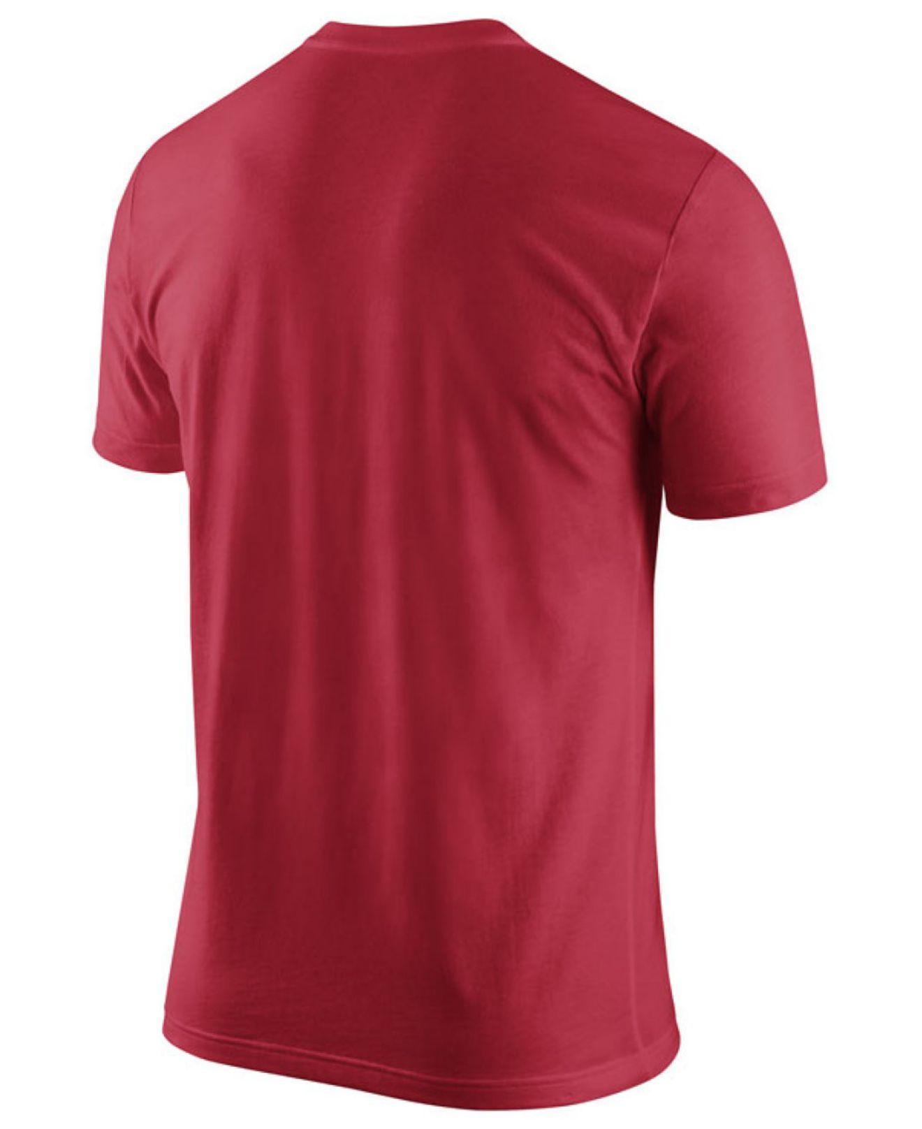 Nike Men 39 S Georgia Bulldogs Practice T Shirt In Red For