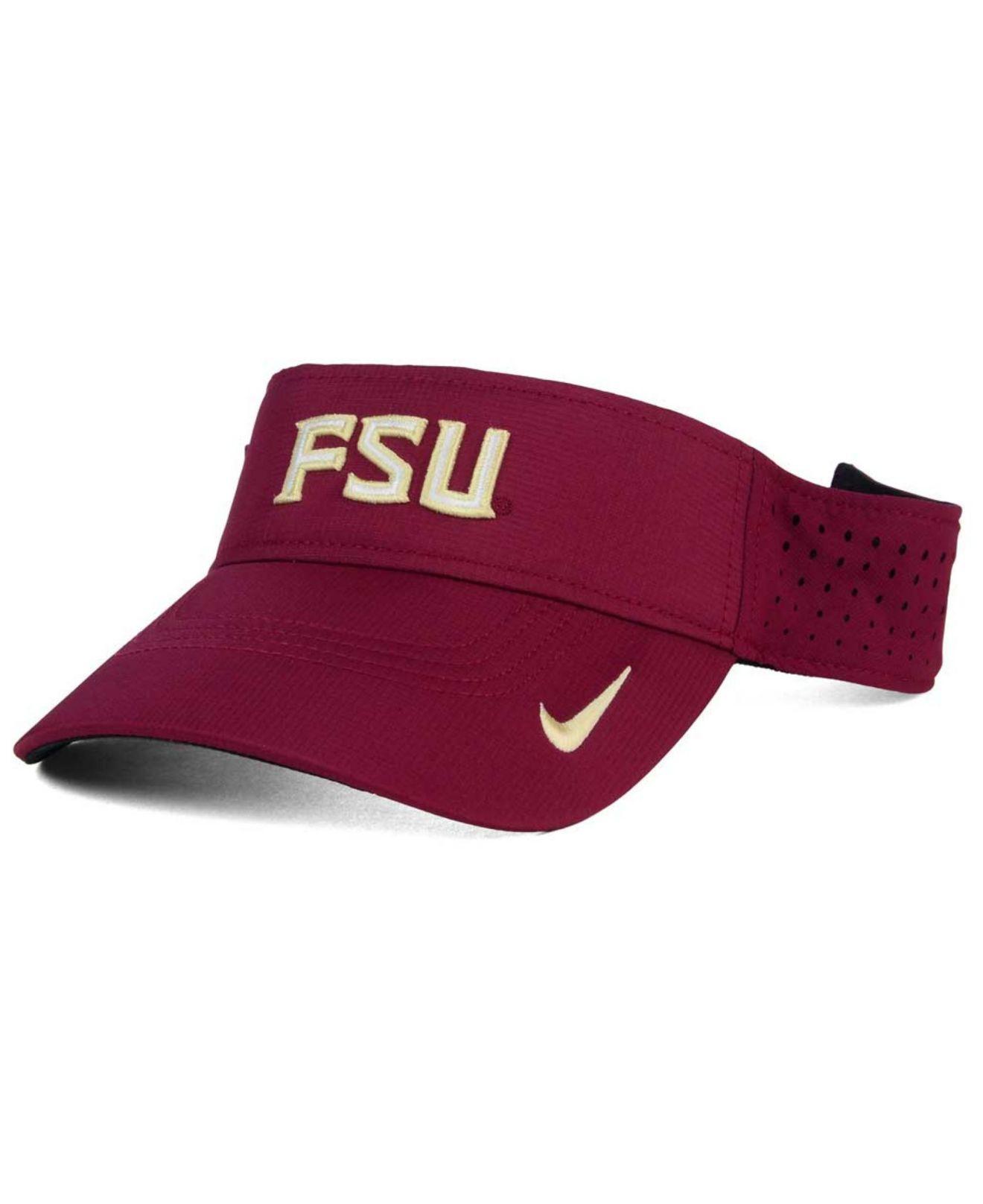 8bf28374942f5 Lyst - Nike Florida State Seminoles Dri-fit Vapor Visor in Purple