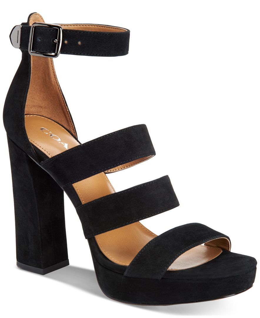 Coach Strappy high sandals P6ORXVx3