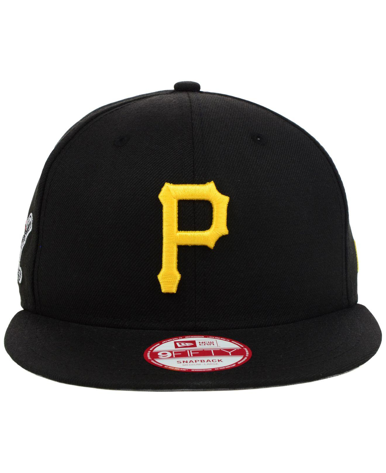 promo code bfe8e c50f7 Lyst - KTZ Pittsburgh Pirates Mlb 2 Tone Link 9fifty Snapback Cap in Black  for Men
