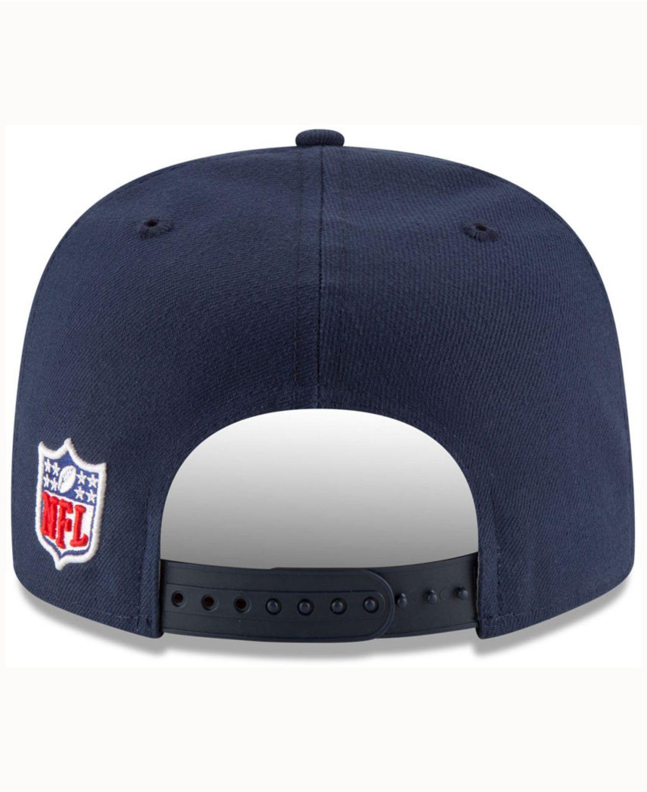 894a242ea Lyst - Ktz Seattle Seahawks Official Sideline 9fifty Cap in Blue for Men