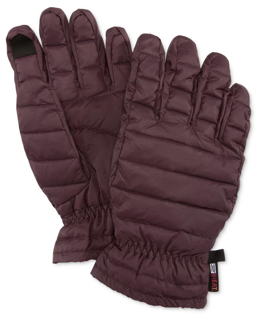Mens down gloves - 32 Degrees Purple Men S Packable Down Gloves