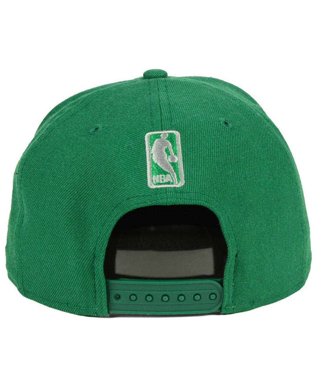 promo code 7bda9 58b59 closeout boston celtics retro triangle 9fifty snapback cap for men lyst. view  fullscreen 1fc22 767bc