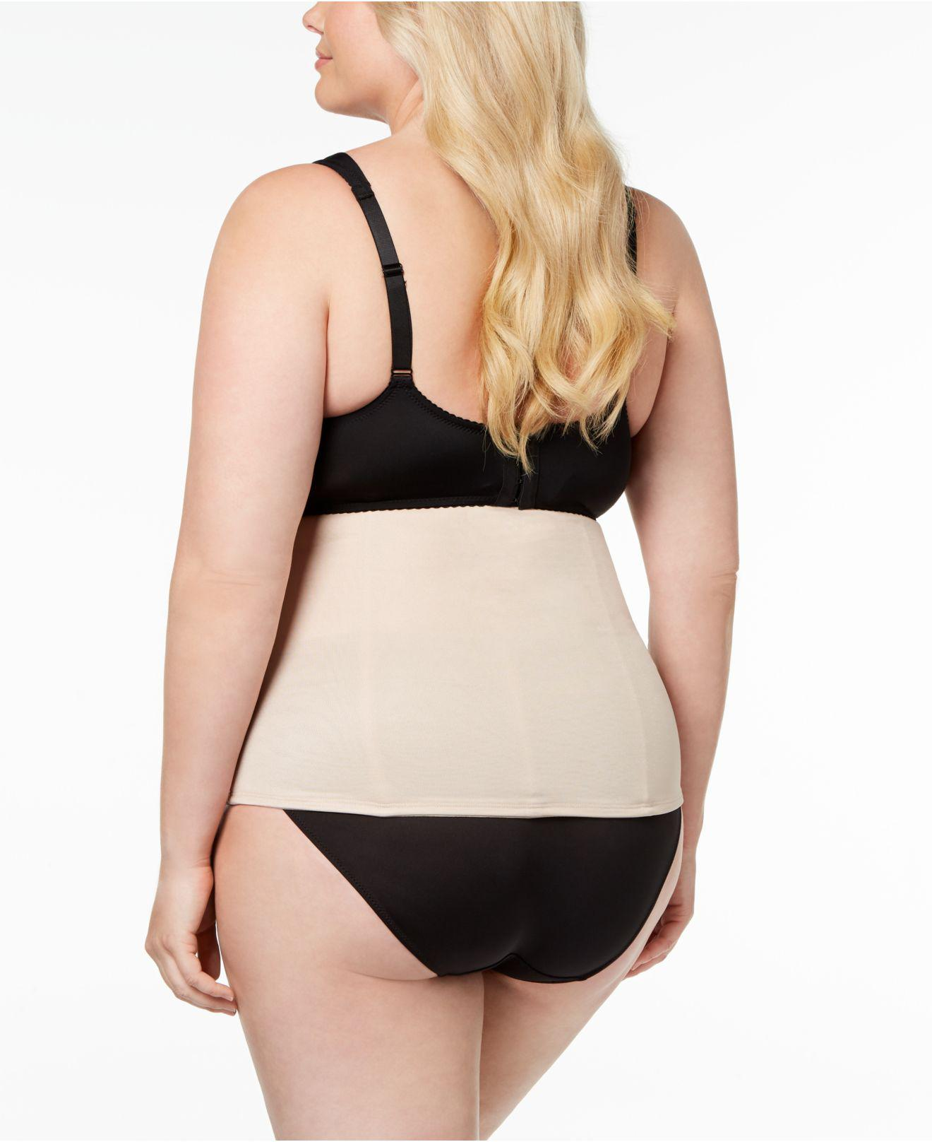 405f4c52d3 Lyst - Miraclesuit Firm Control Waist Cincher Inches Off 2615 in Black