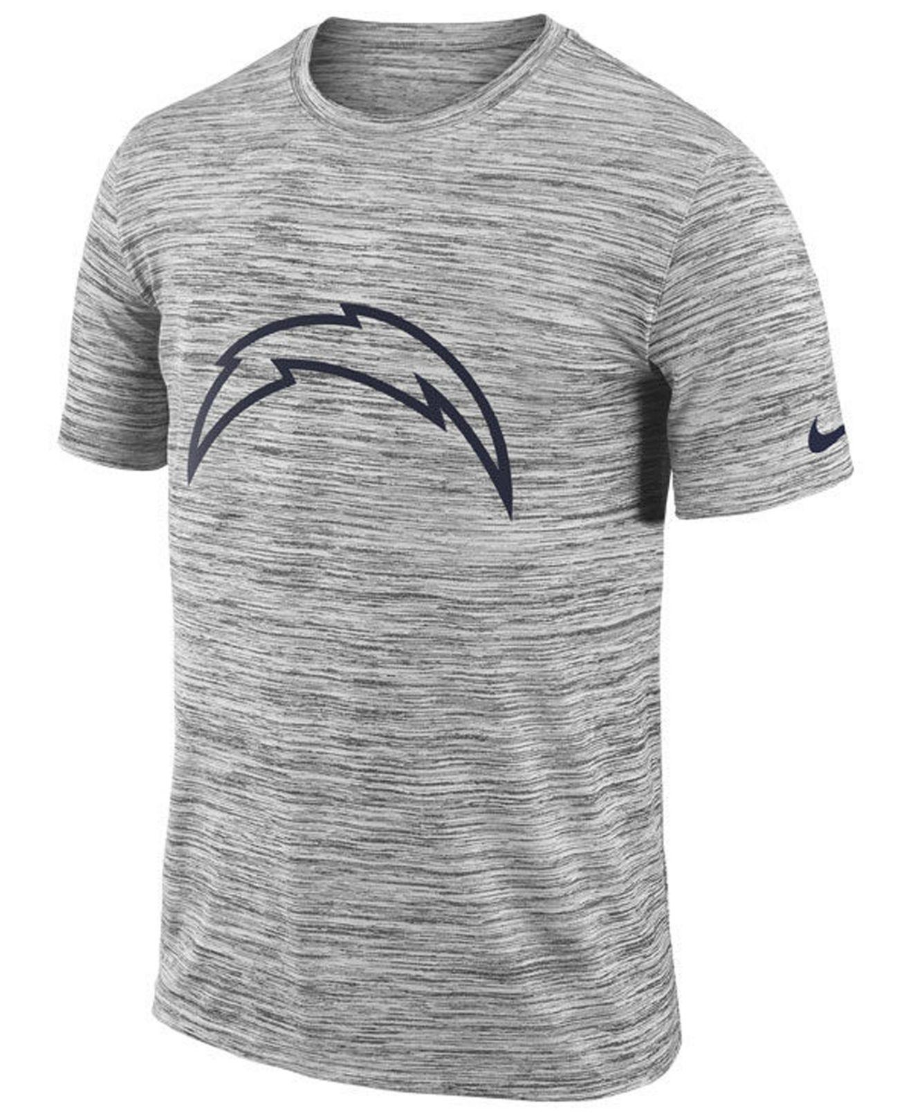 Lyst - Nike Los Angeles Chargers Legend Velocity Travel T-shirt in ... def84b879