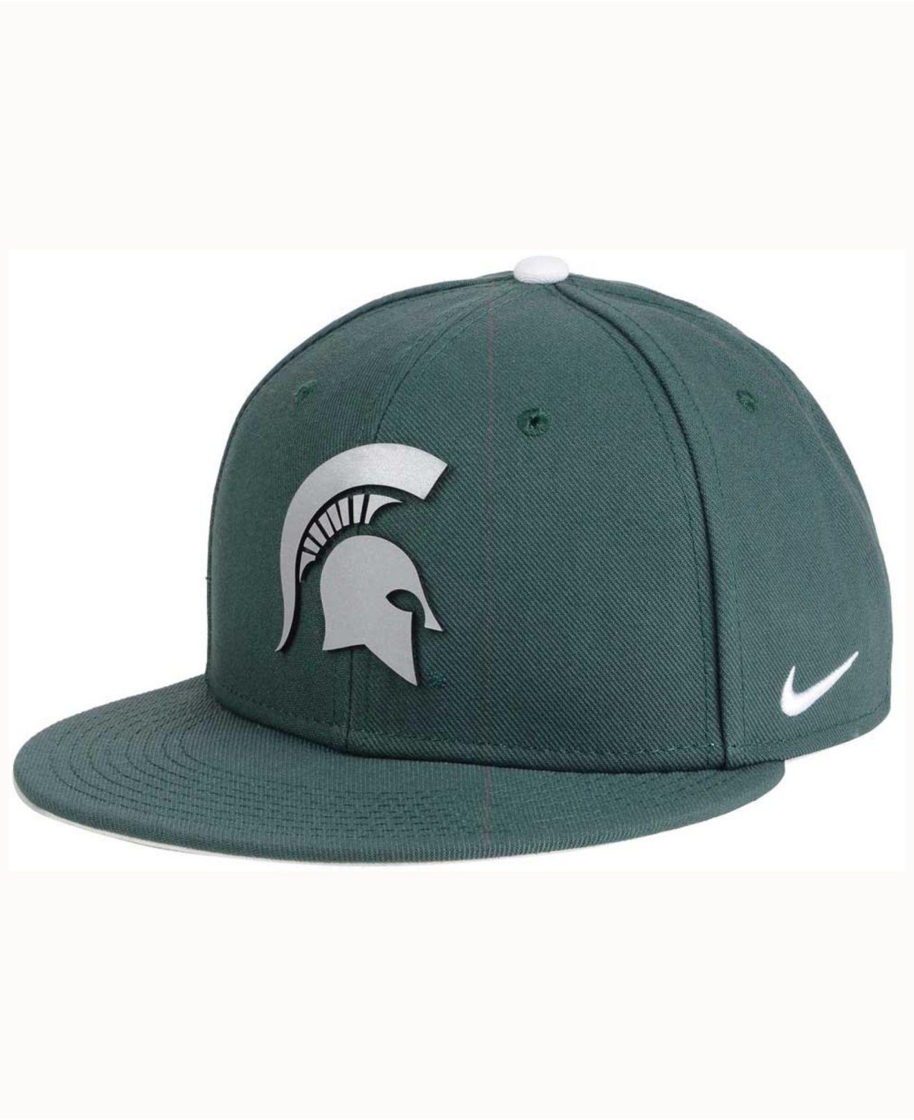 info for 9b5cd 79904 ... usa lyst nike michigan state spartans true reflective snapback cap in  1a88b eab1b