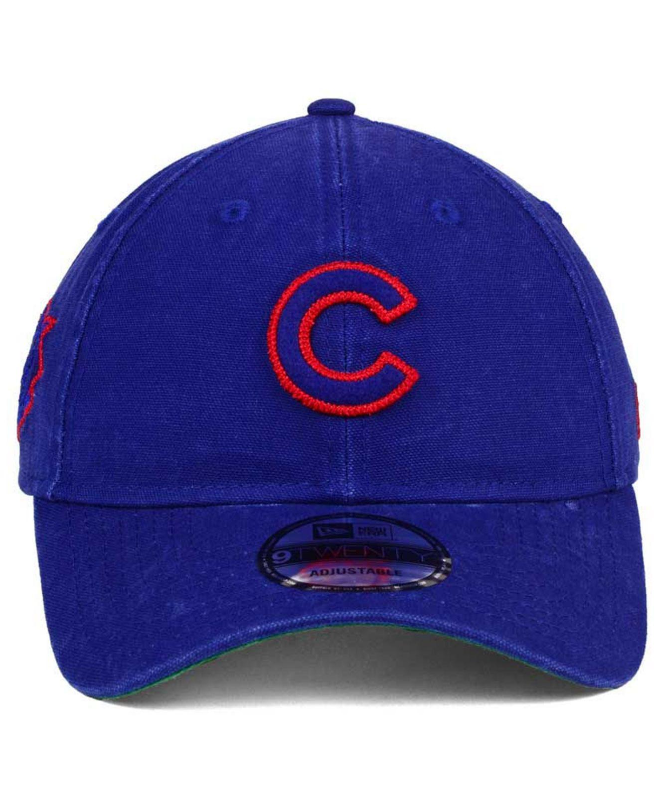 buy popular cc99c 9b73b ... switzerland lyst ktz chicago cubs chain stitch 9twenty cap in blue for  men 65ca0 ad9b8
