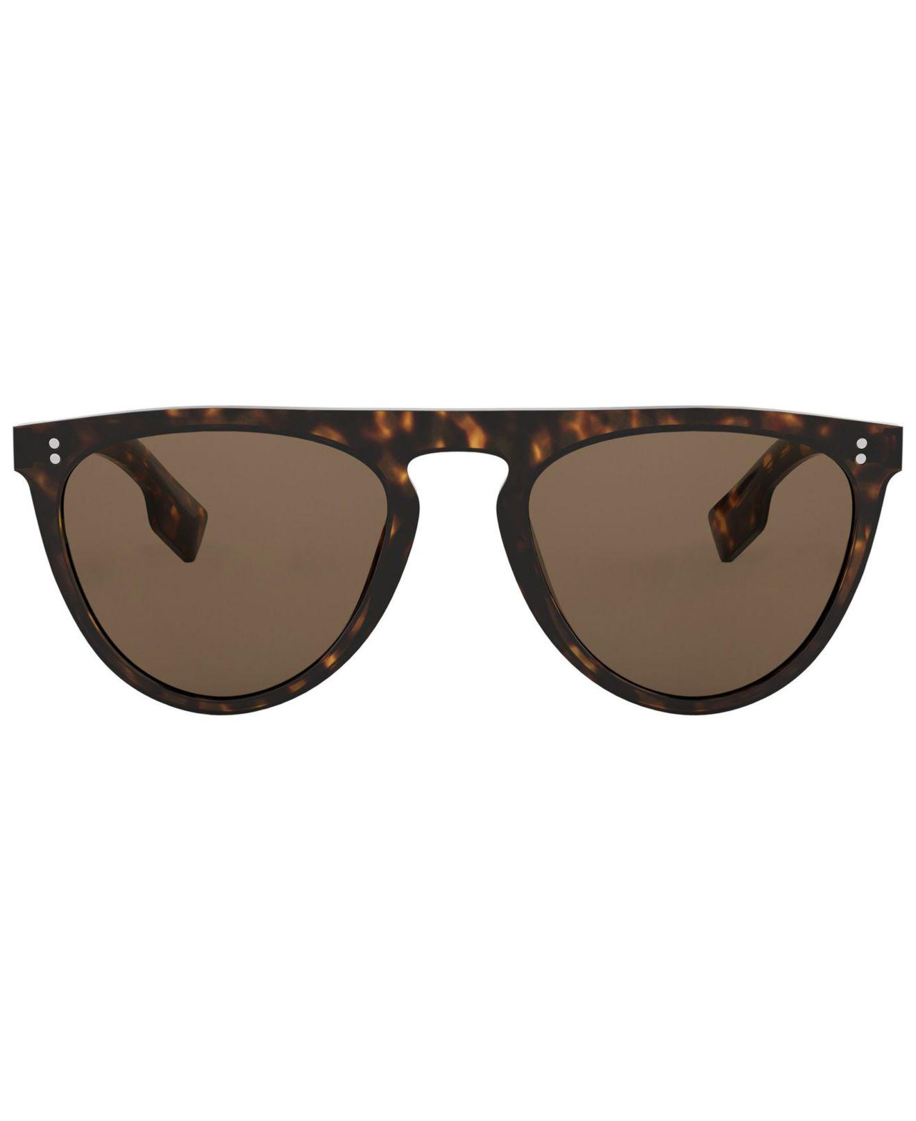 1999df2425b Lyst - Burberry Sunglasses