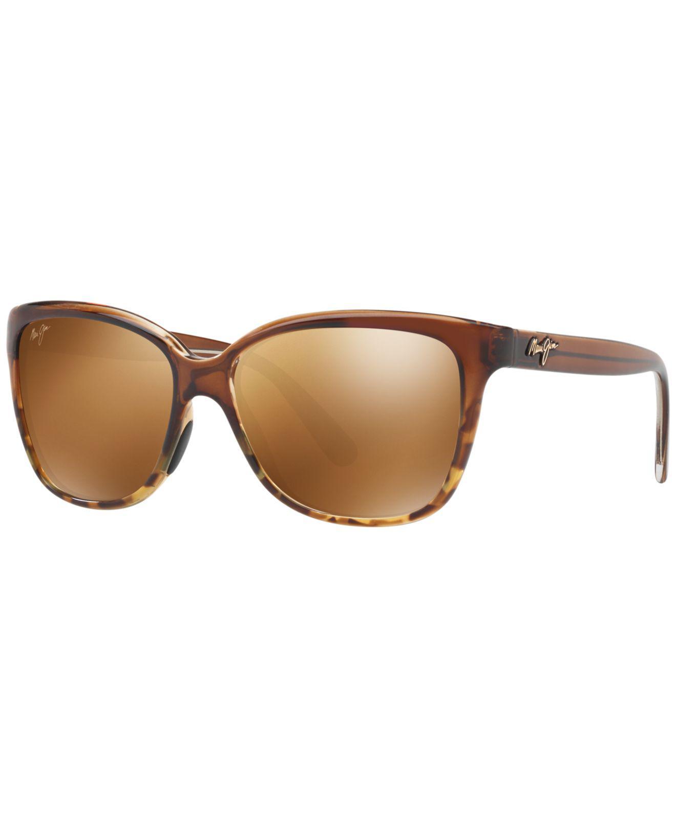 5a2c643e2348f Maui Jim. Women s Brown Starfish Sunglasses